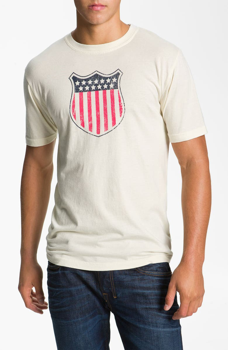 98323c80f American Needle  USA Shield 24  Graphic T-Shirt