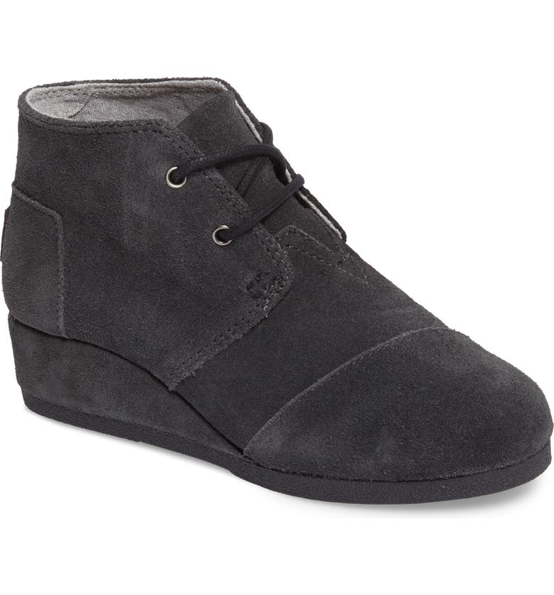 9ebe1859ede TOMS  Desert - Youth  Wedge Bootie (Toddler