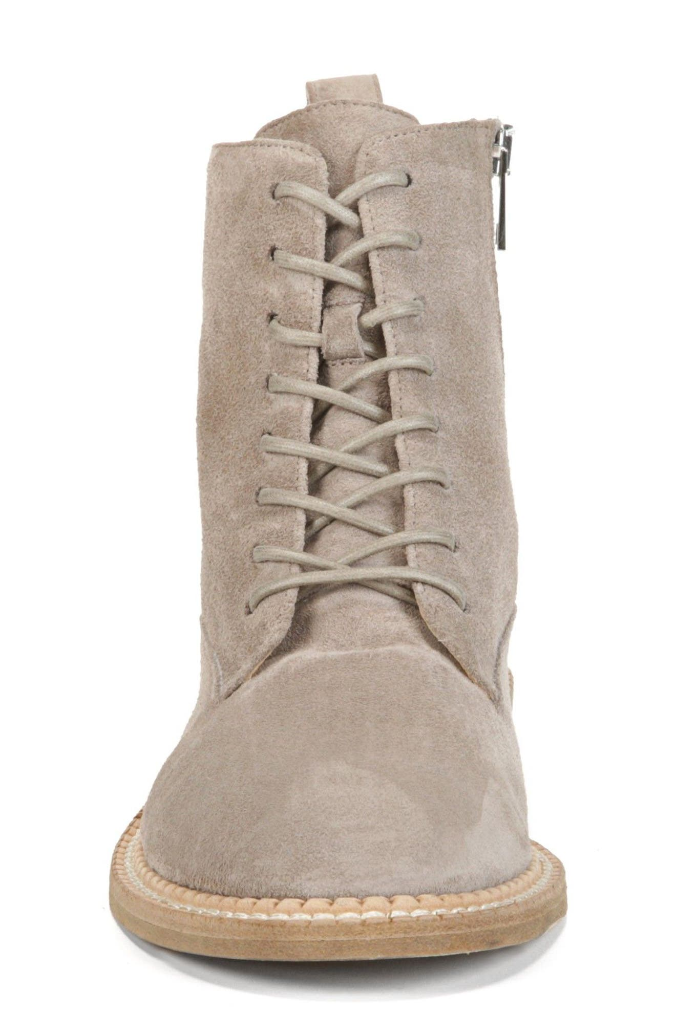 Cabria Lace-Up Boot,                             Alternate thumbnail 4, color,                             LIGHT WOODSMOKE