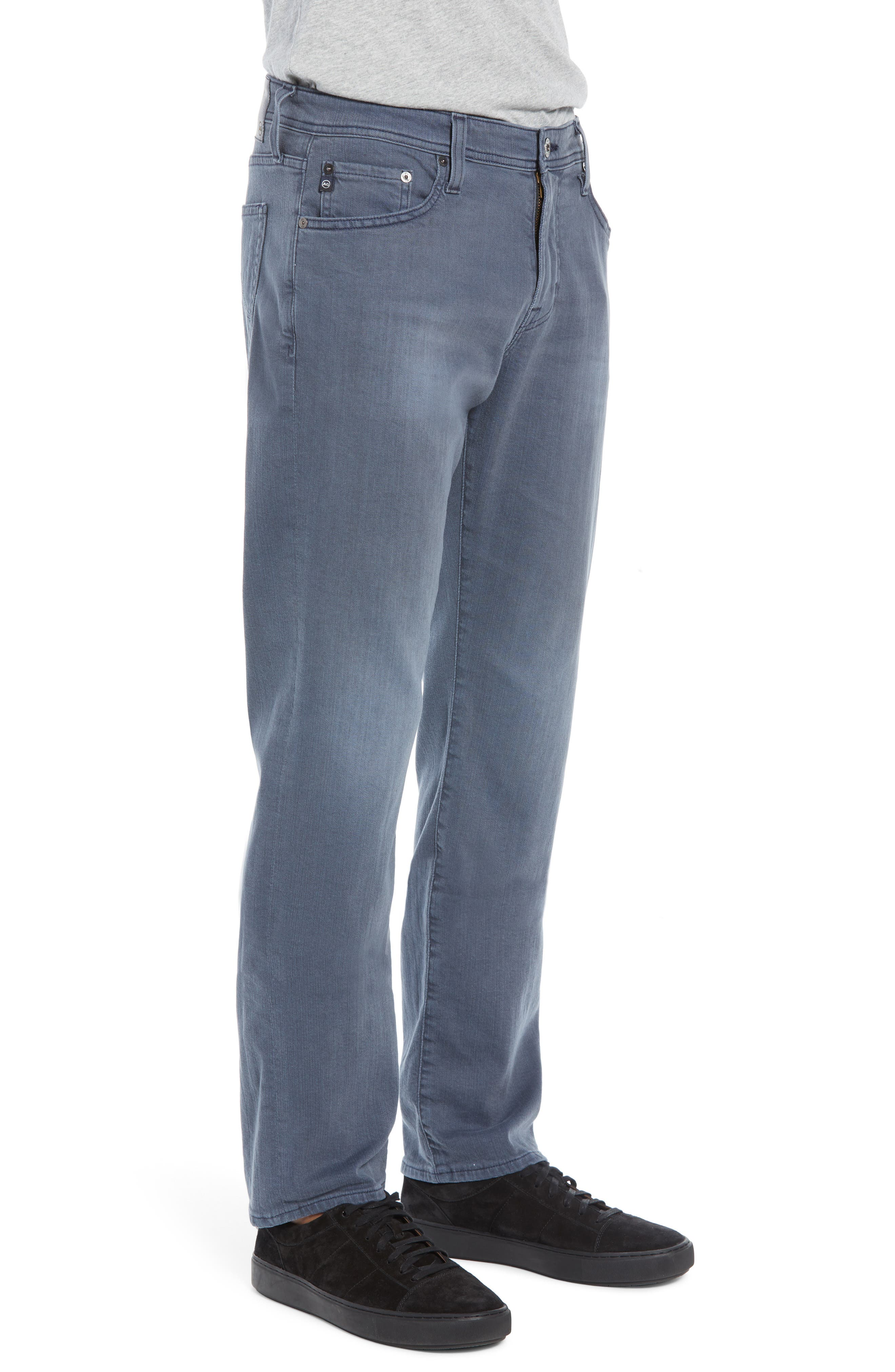Graduate Slim Straight Leg Jeans,                             Alternate thumbnail 3, color,                             FLUXING TIDES