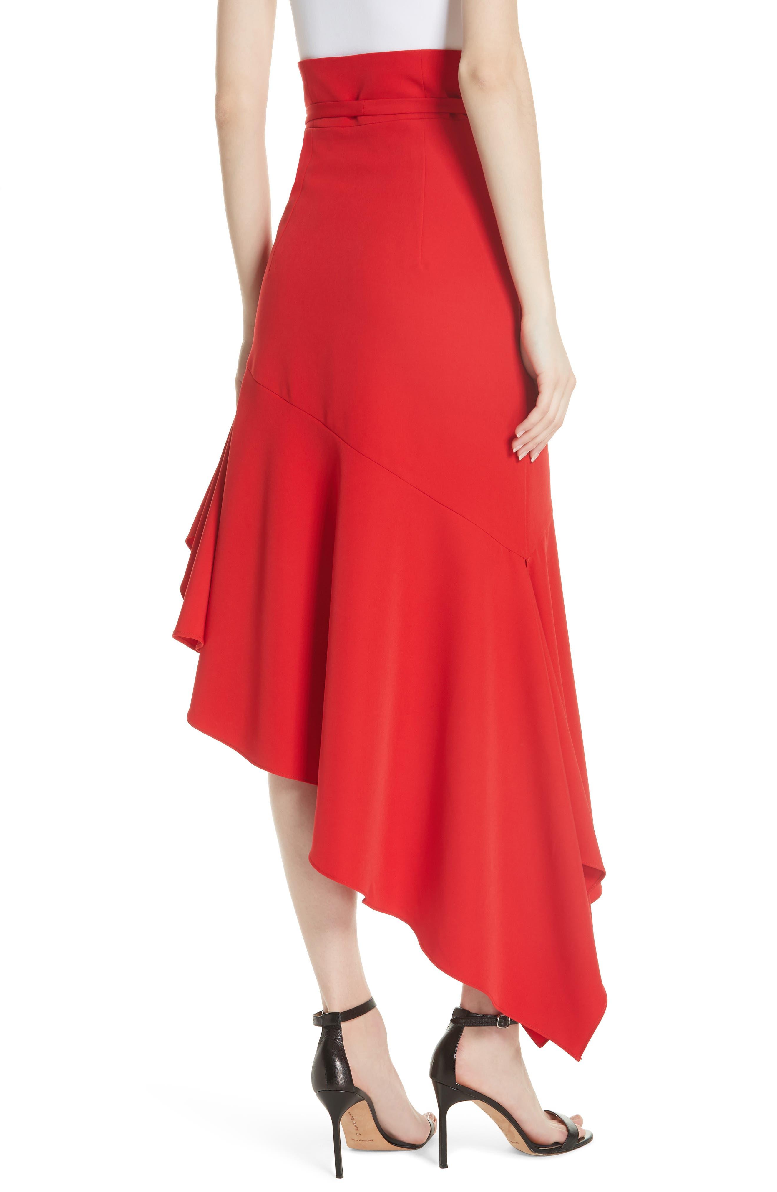 Italian Cady Maxi Skirt,                             Alternate thumbnail 2, color,                             607