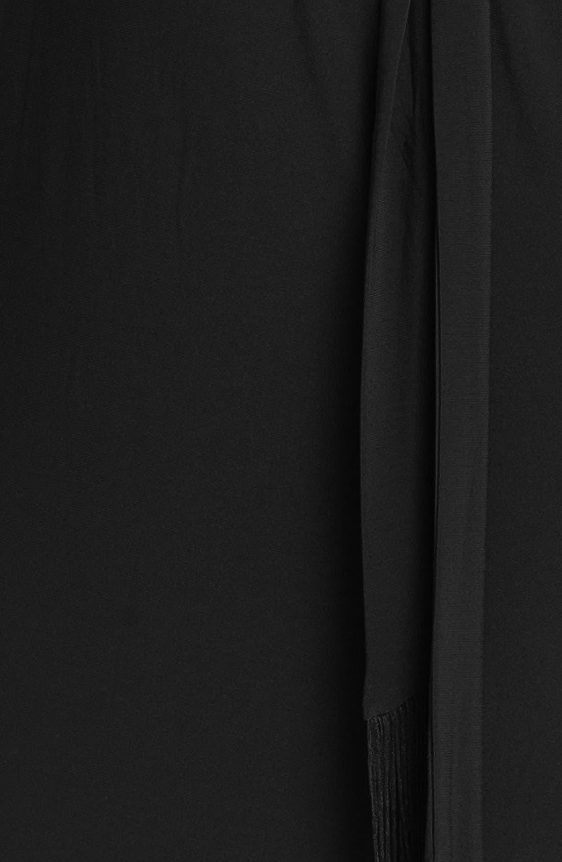 Cold Shoulder Matte Jersey Blouson Dress,                             Alternate thumbnail 2, color,                             001