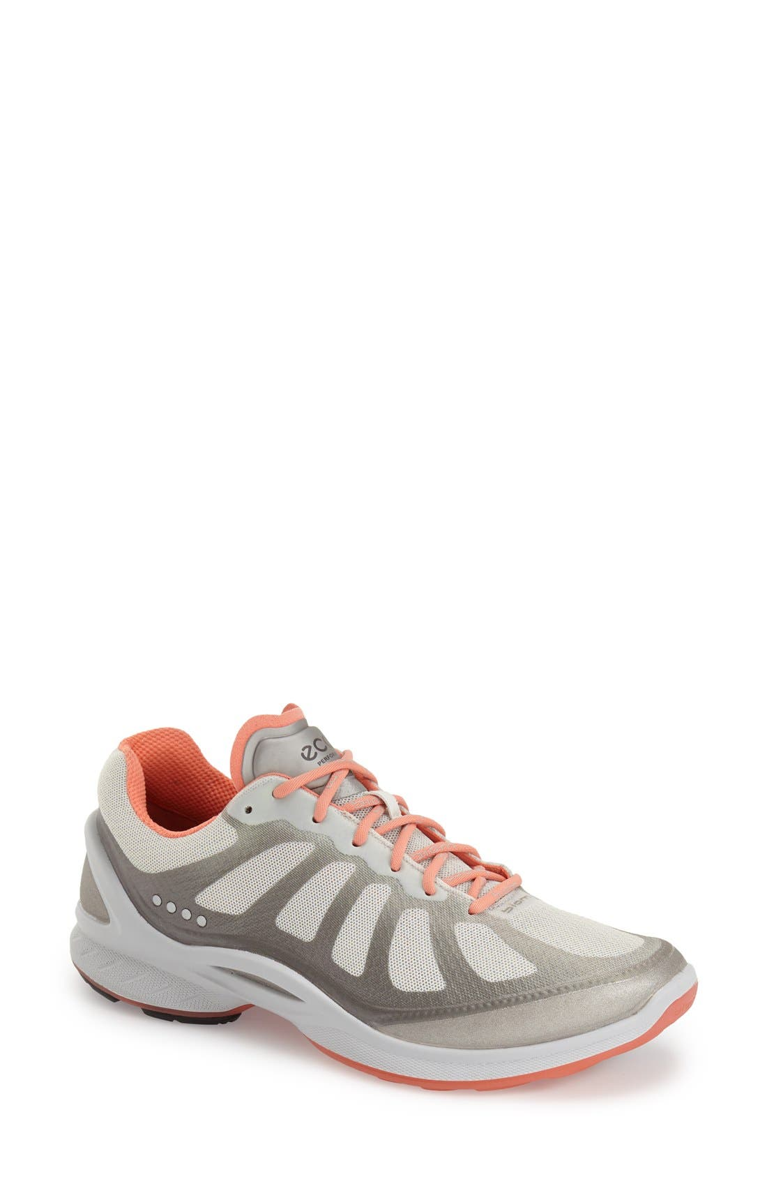 'BIOM Fjuel Racer' Sneaker,                         Main,                         color, SILVER METALLIC CORAL