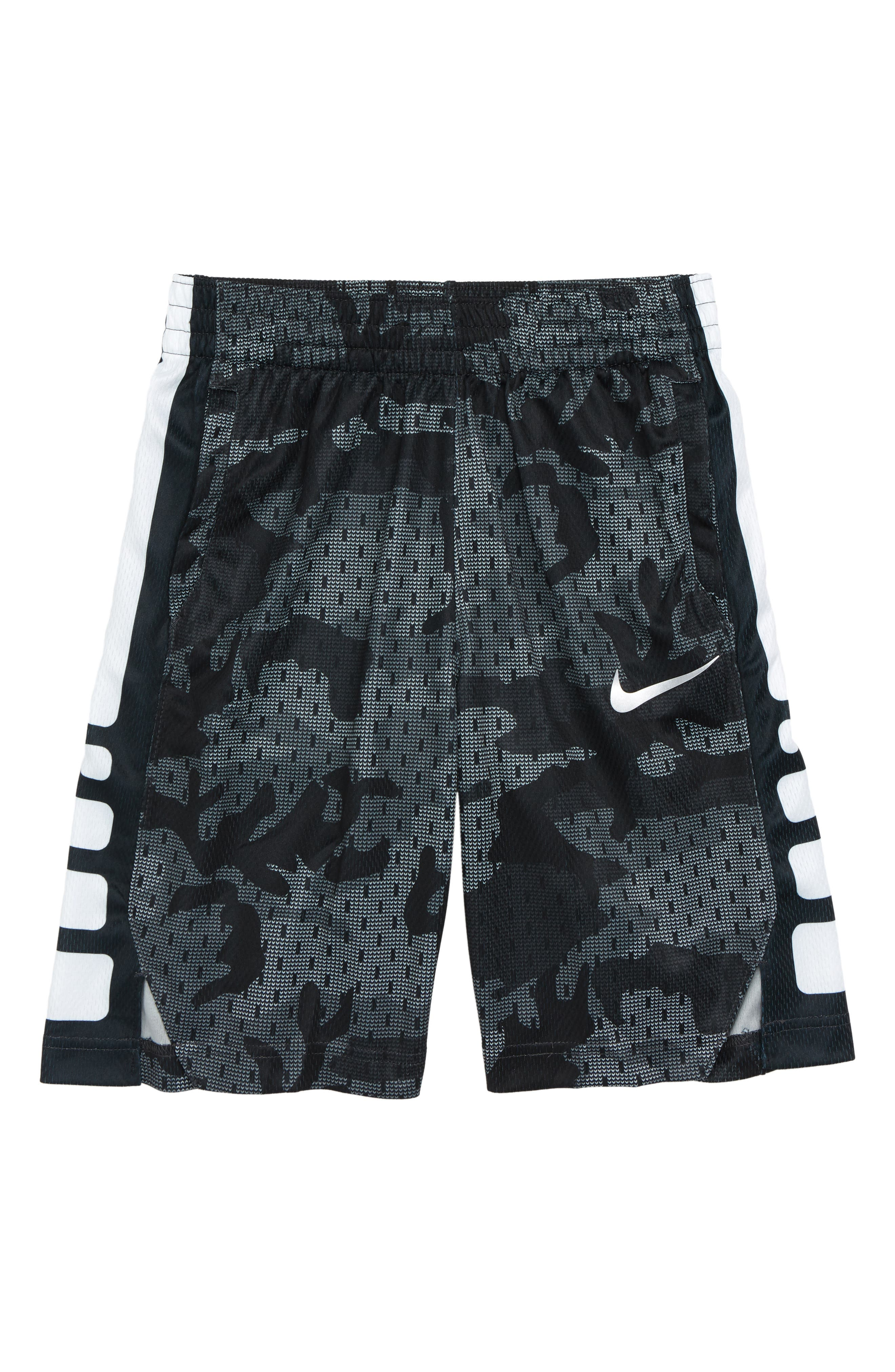 Dry Elite Basketball Shorts,                         Main,                         color, WOLF GREY/ BLACK