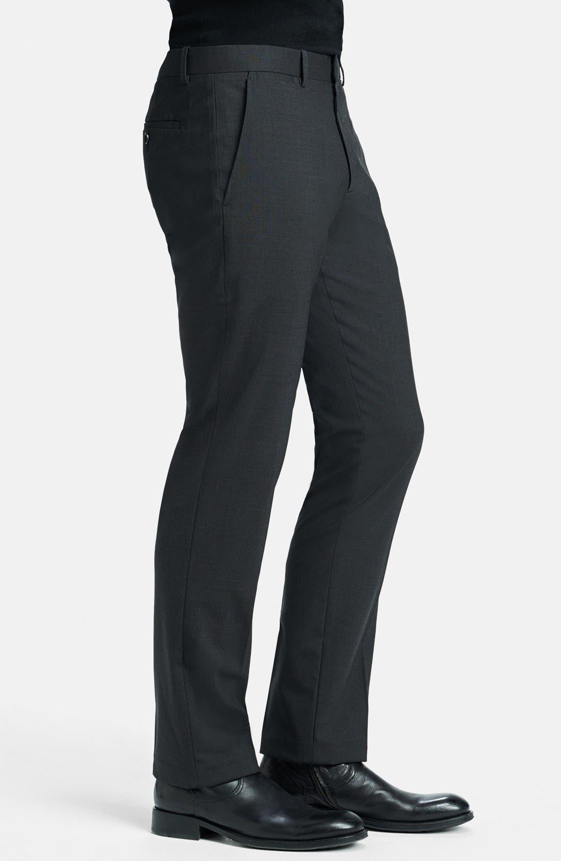 'Marlo New Tailor' Slim Fit Pants,                             Alternate thumbnail 16, color,