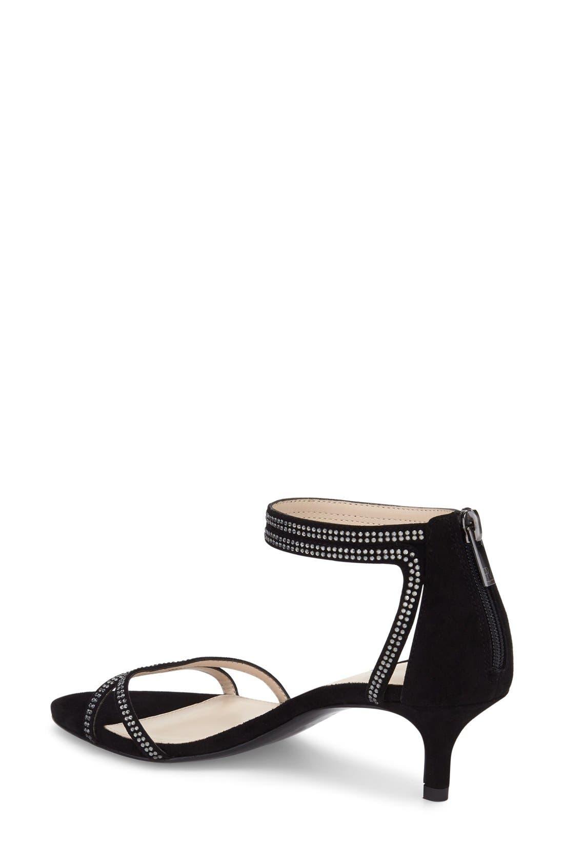 Fillis Ankle Strap Sandal,                             Alternate thumbnail 2, color,                             001