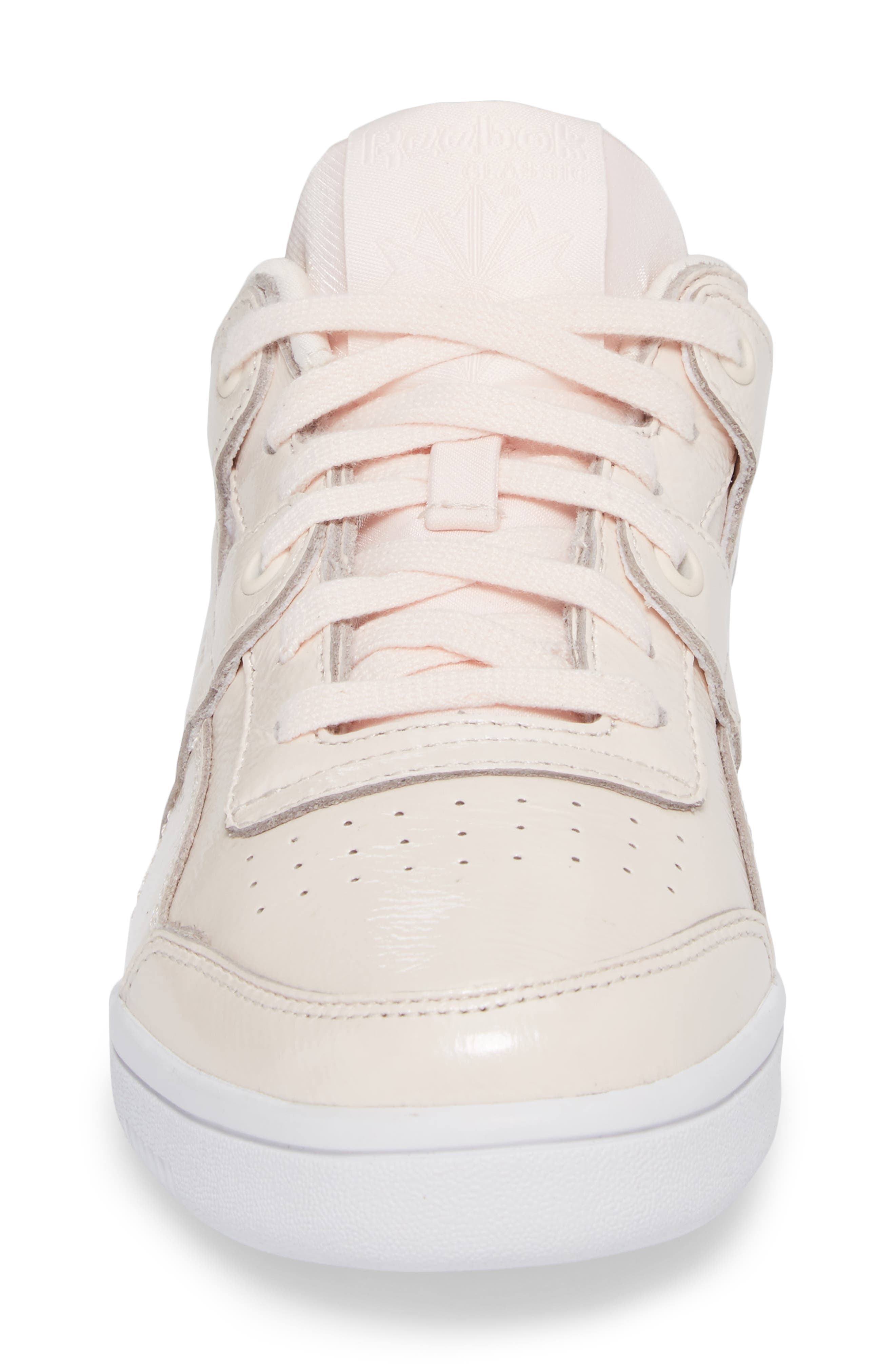 Workout Lo Plus Iridescent Sneaker,                             Alternate thumbnail 4, color,                             650