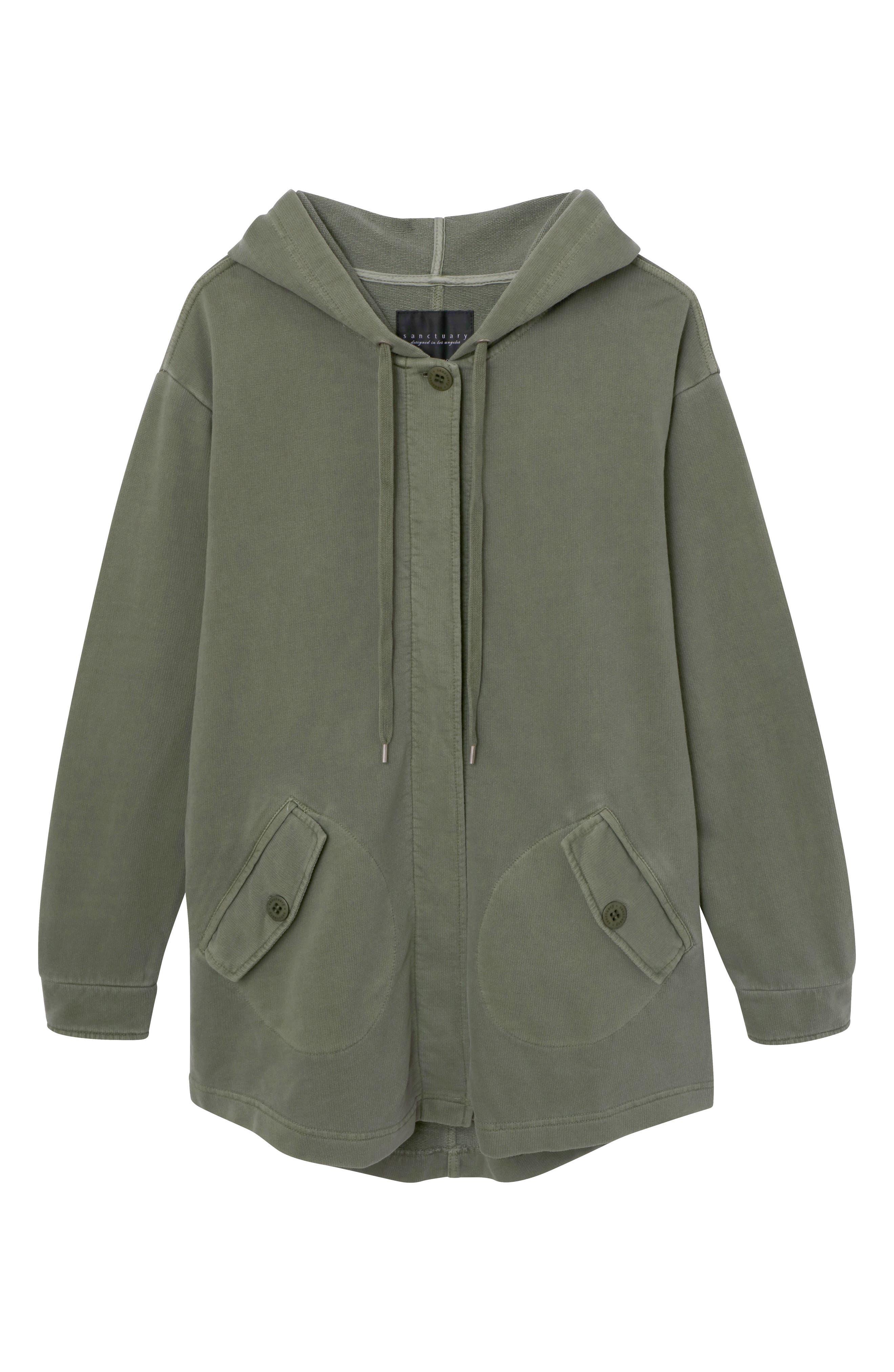 Top Rank Hooded Jacket,                             Alternate thumbnail 3, color,                             300
