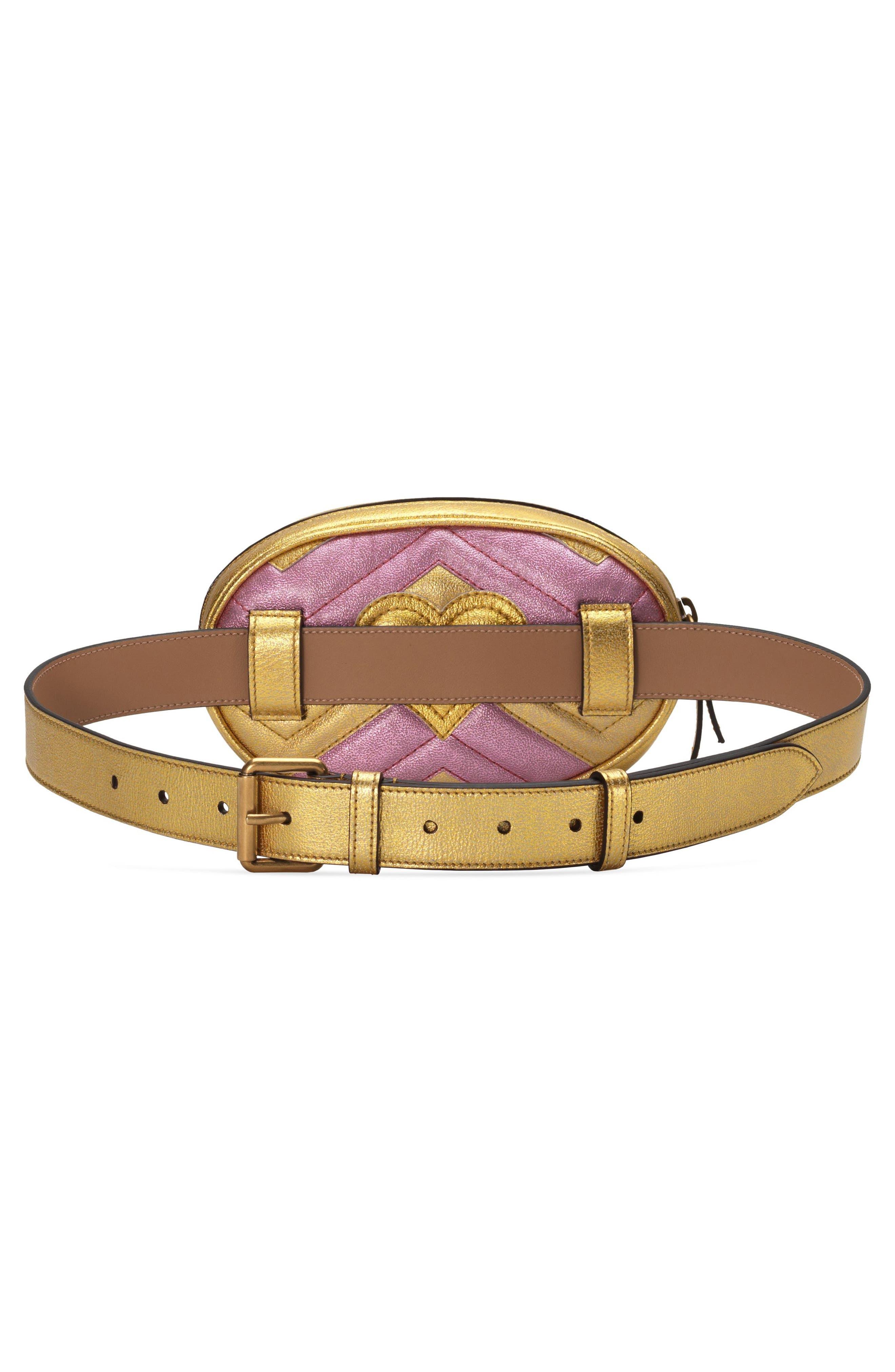 Marmont 2.0 Leather Belt Bag,                             Alternate thumbnail 2, color,                             710