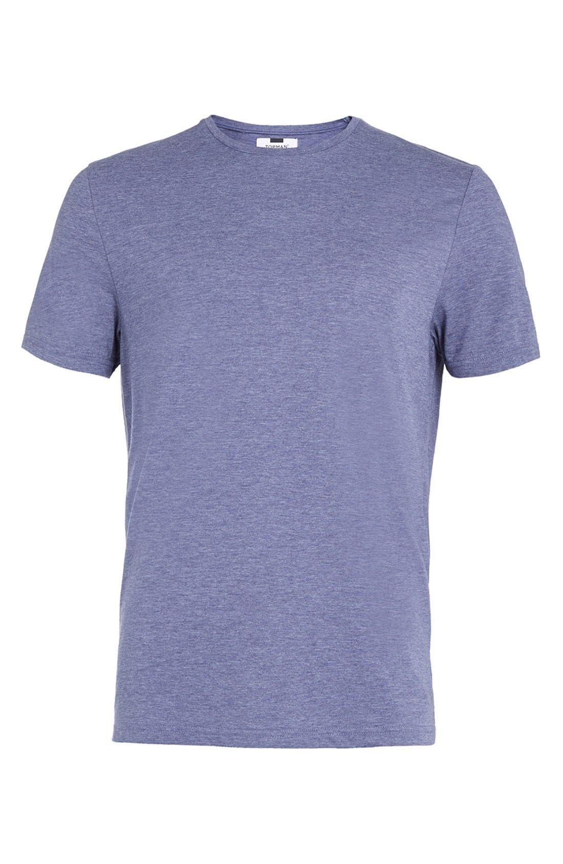 Slim Fit Crewneck T-Shirt,                             Alternate thumbnail 160, color,