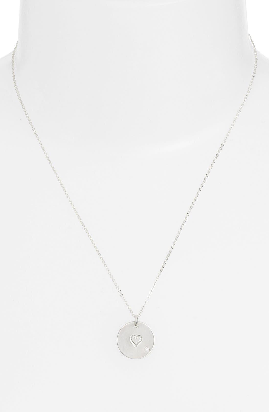 Diamond Pendant Necklace,                             Alternate thumbnail 6, color,
