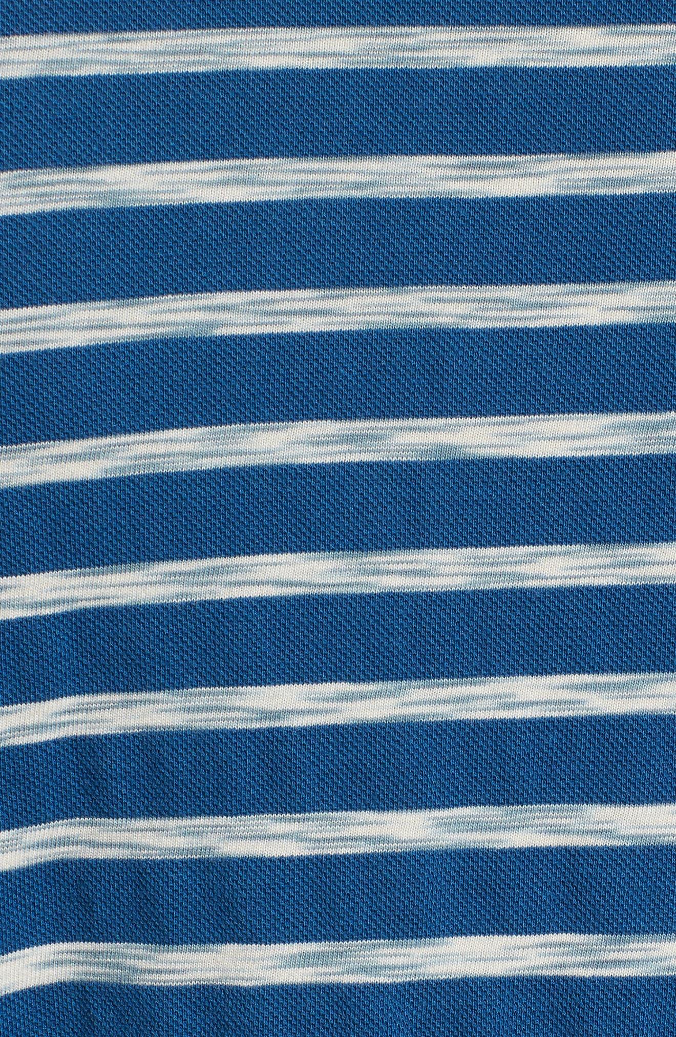 Galley Polo,                             Alternate thumbnail 5, color,                             SEA BLUE