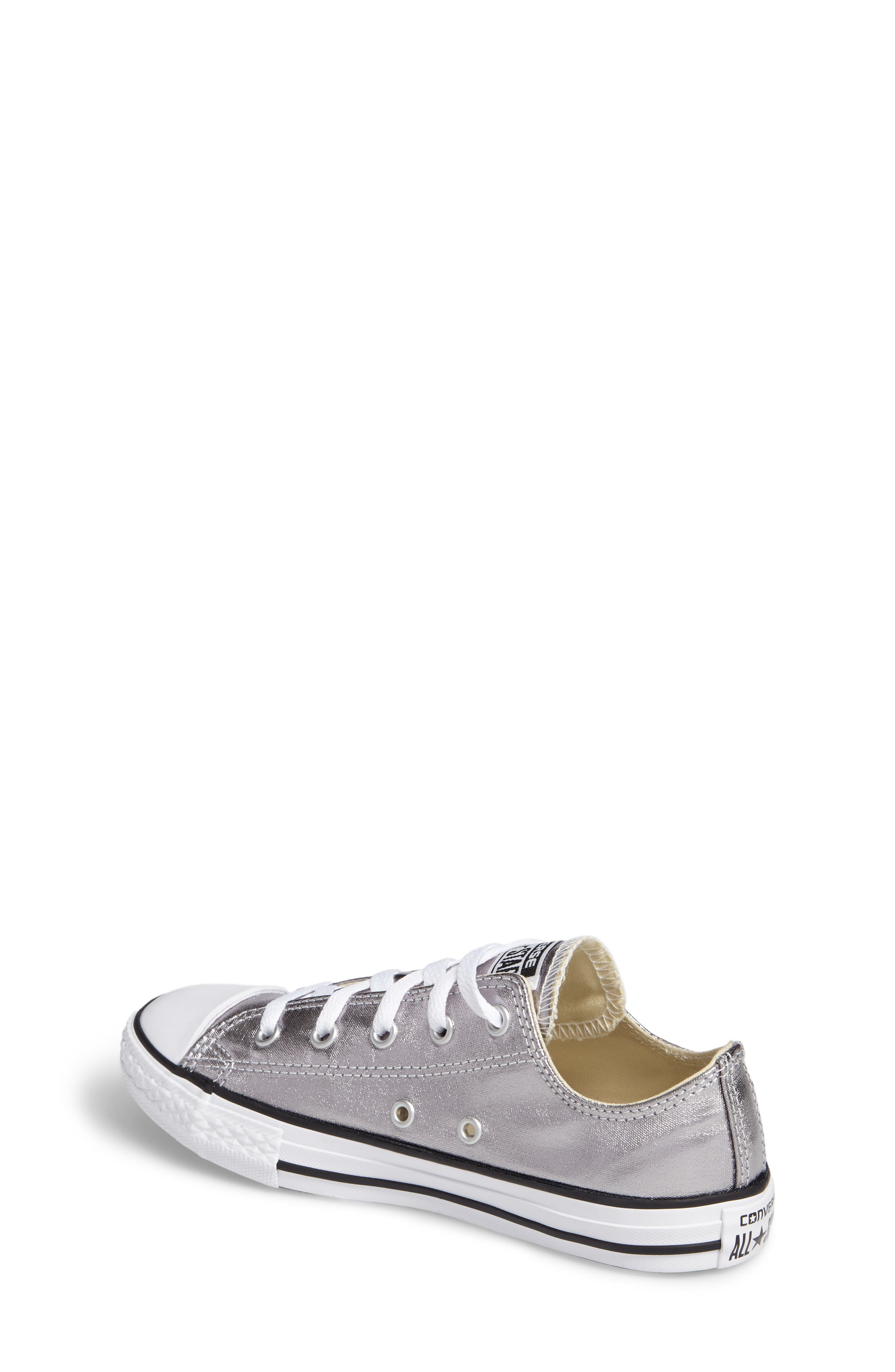 Chuck Taylor<sup>®</sup> All Star<sup>®</sup> Metallic Sneaker,                             Alternate thumbnail 2, color,                             040