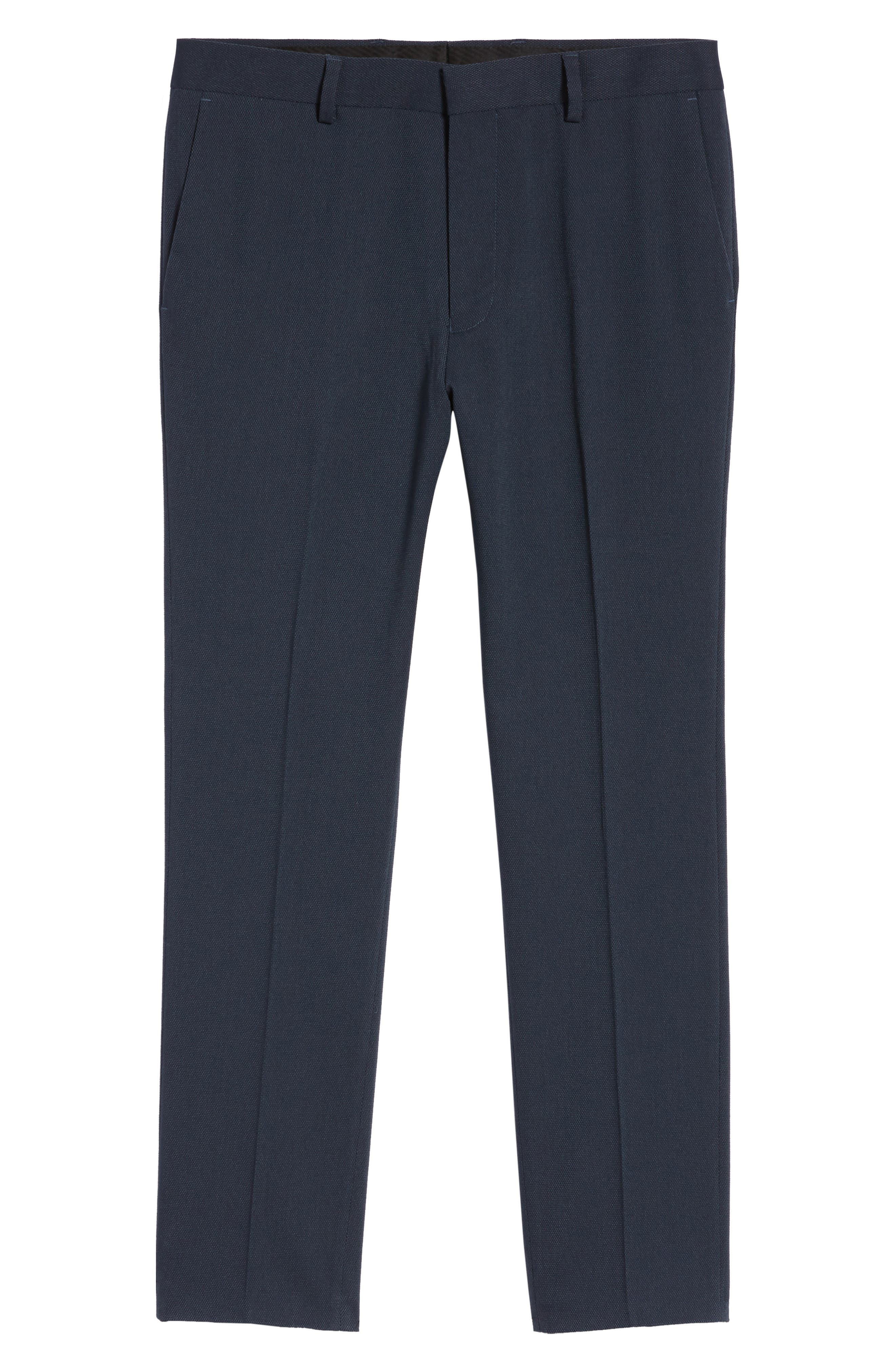 Skinny Fit Como Trousers,                             Alternate thumbnail 6, color,                             420