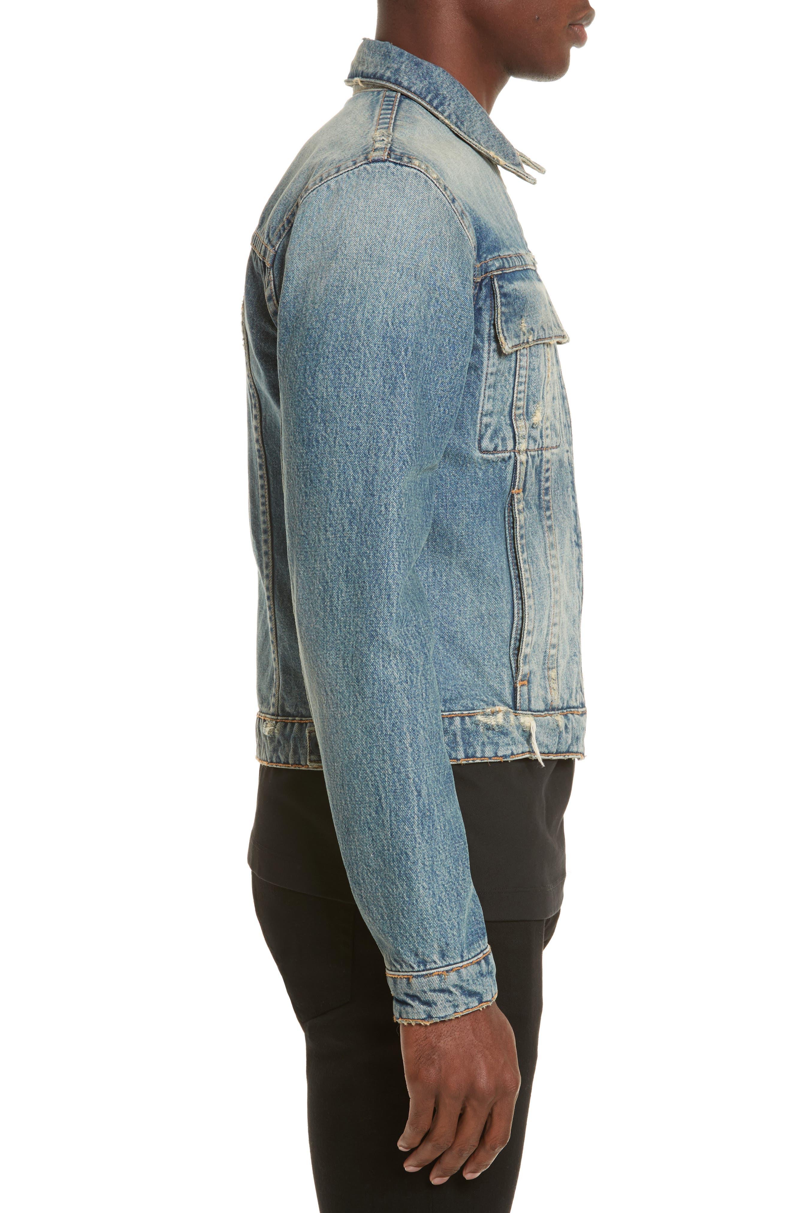 Reversible 87 Denim Jacket,                             Alternate thumbnail 4, color,                             484