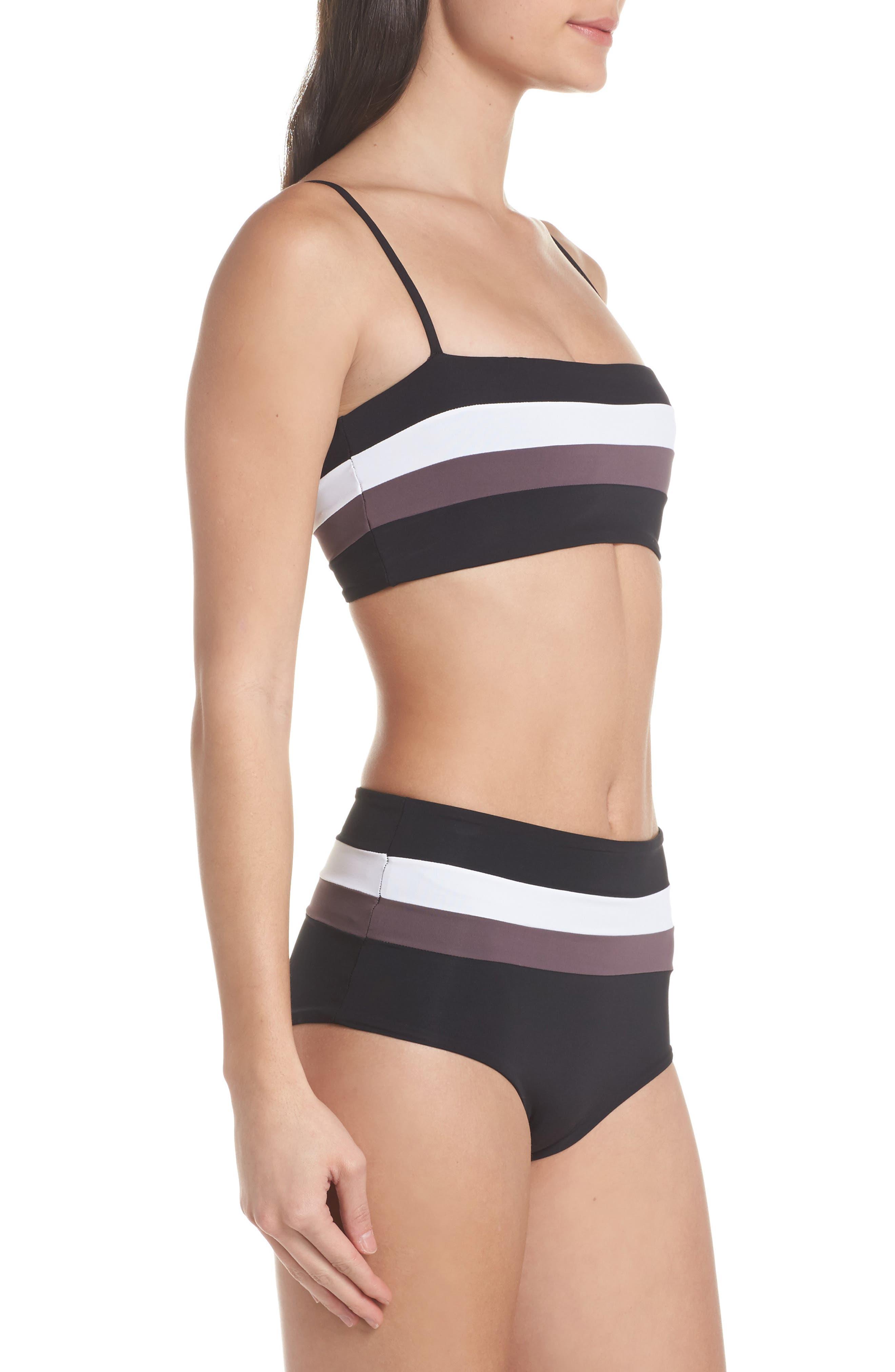 Portia Reversible Colorblock Bikini Bottoms,                             Alternate thumbnail 19, color,