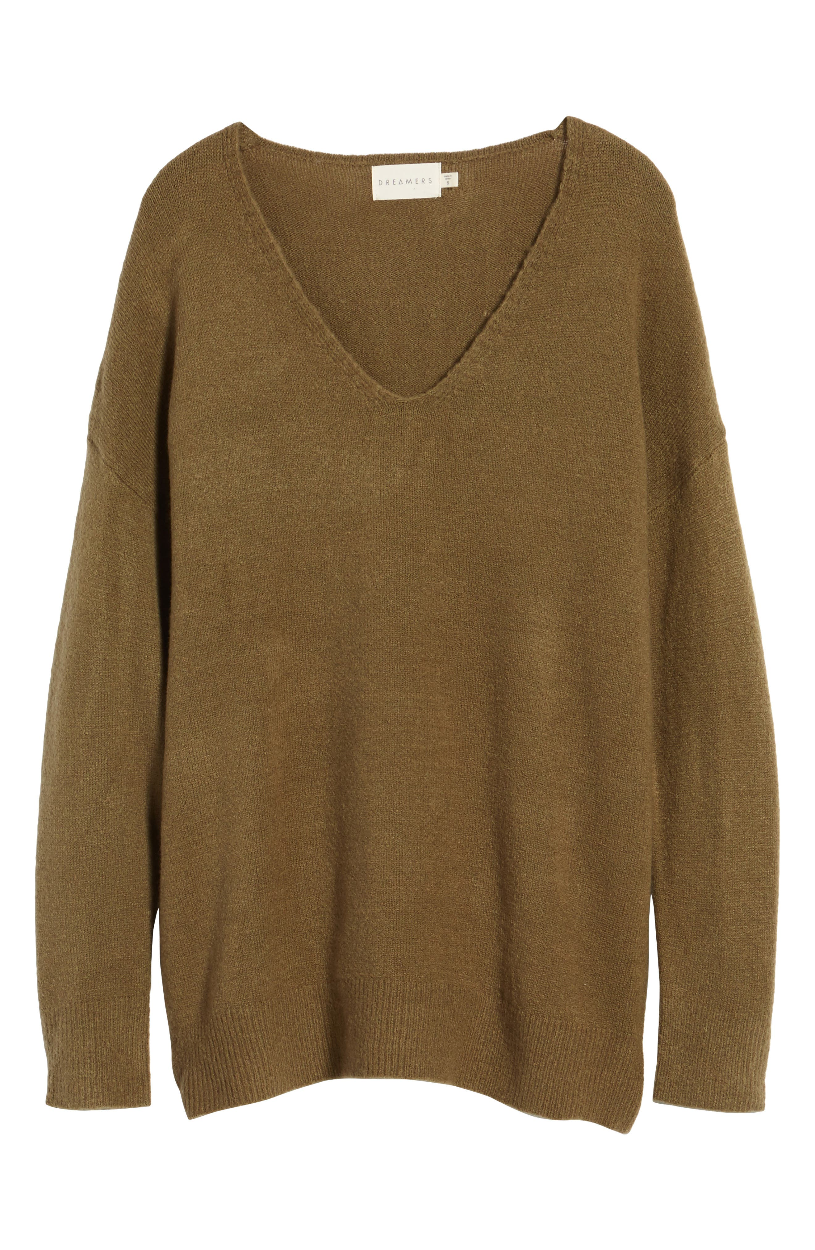 DREAMERS BY DEBUT,                             V-Neck Sweater,                             Alternate thumbnail 6, color,                             310