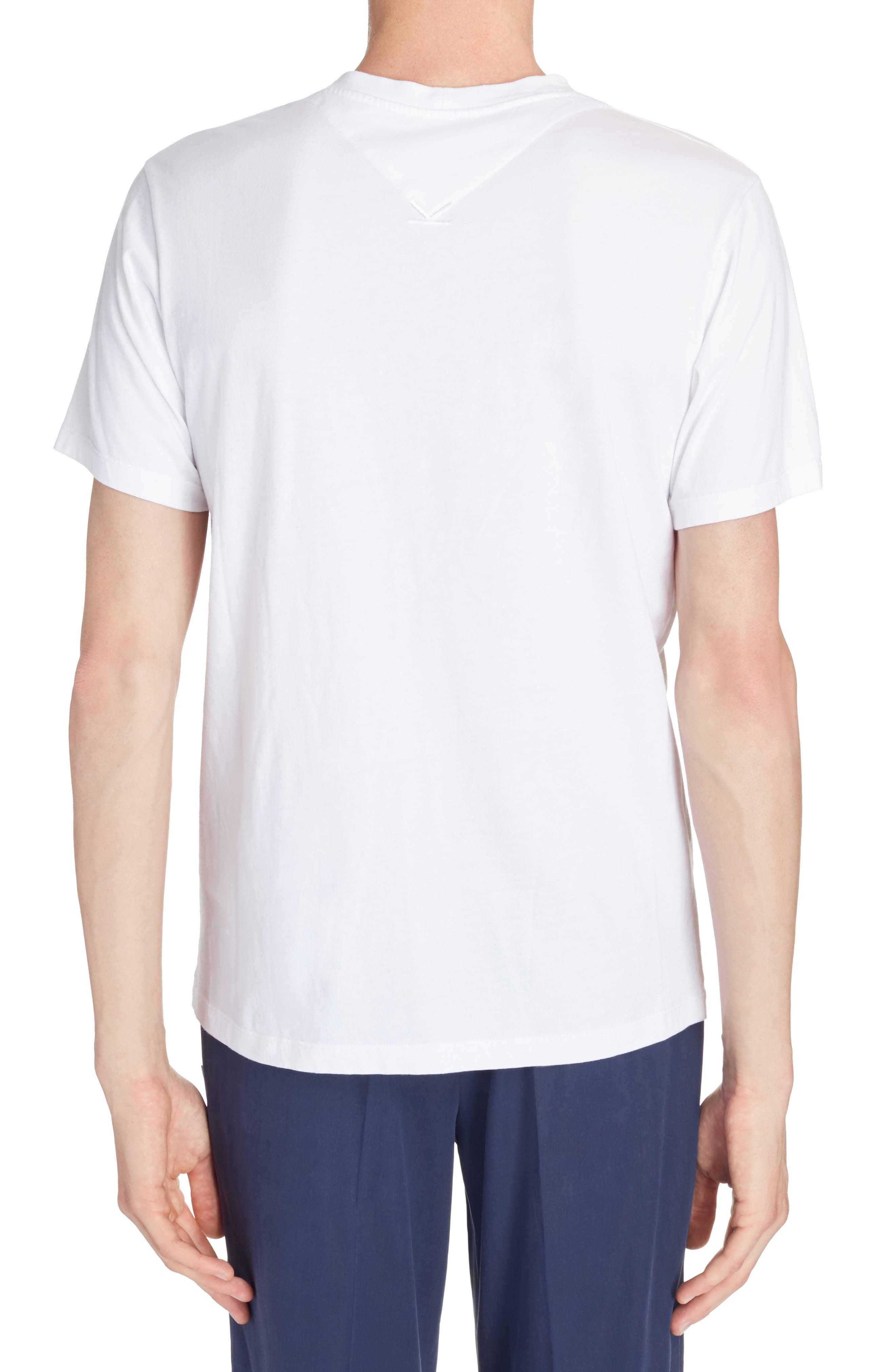 Cursive Logo Graphic T-Shirt,                             Alternate thumbnail 2, color,                             100
