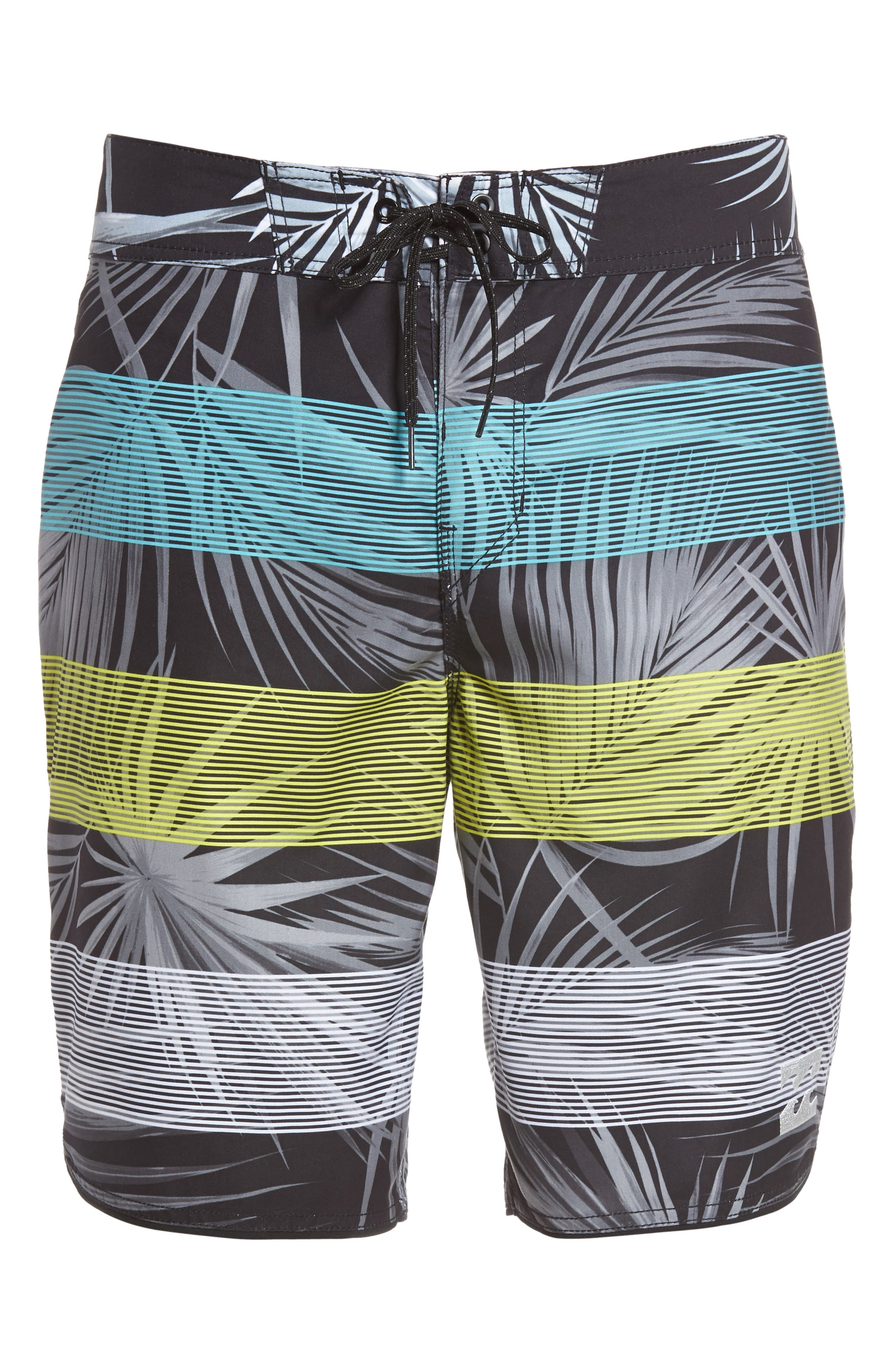 73 OG Stripe Board Shorts,                             Alternate thumbnail 6, color,                             001