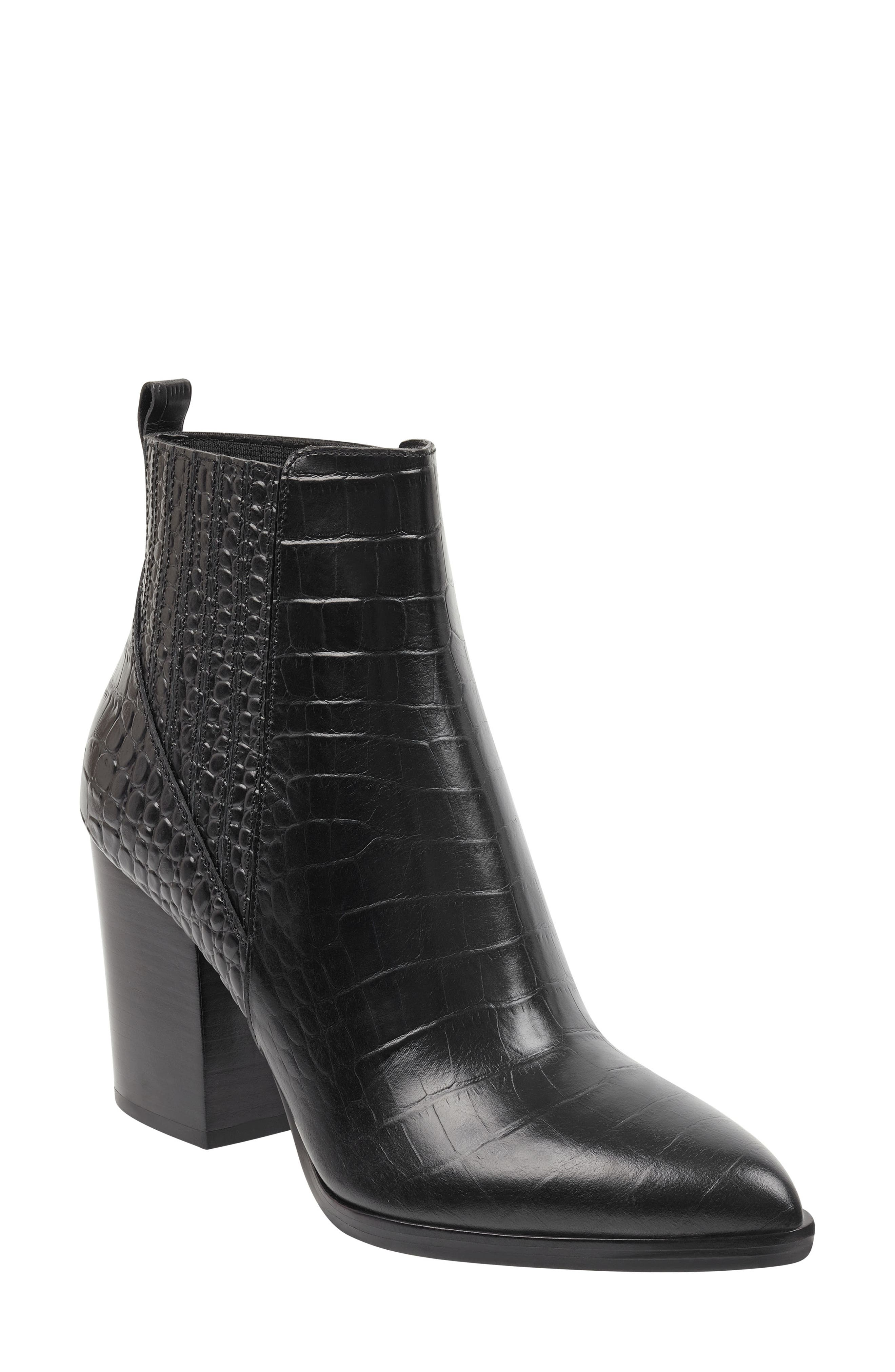 Marc Fisher Alva Booties Black
