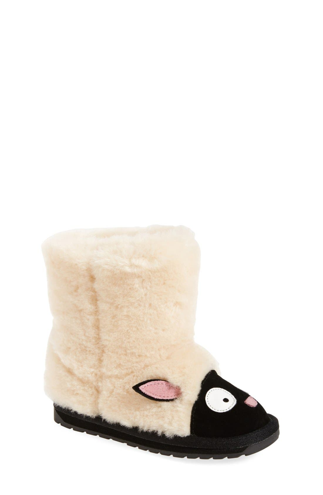 Little Creatures - Lamb Boot,                             Main thumbnail 1, color,                             NATURAL