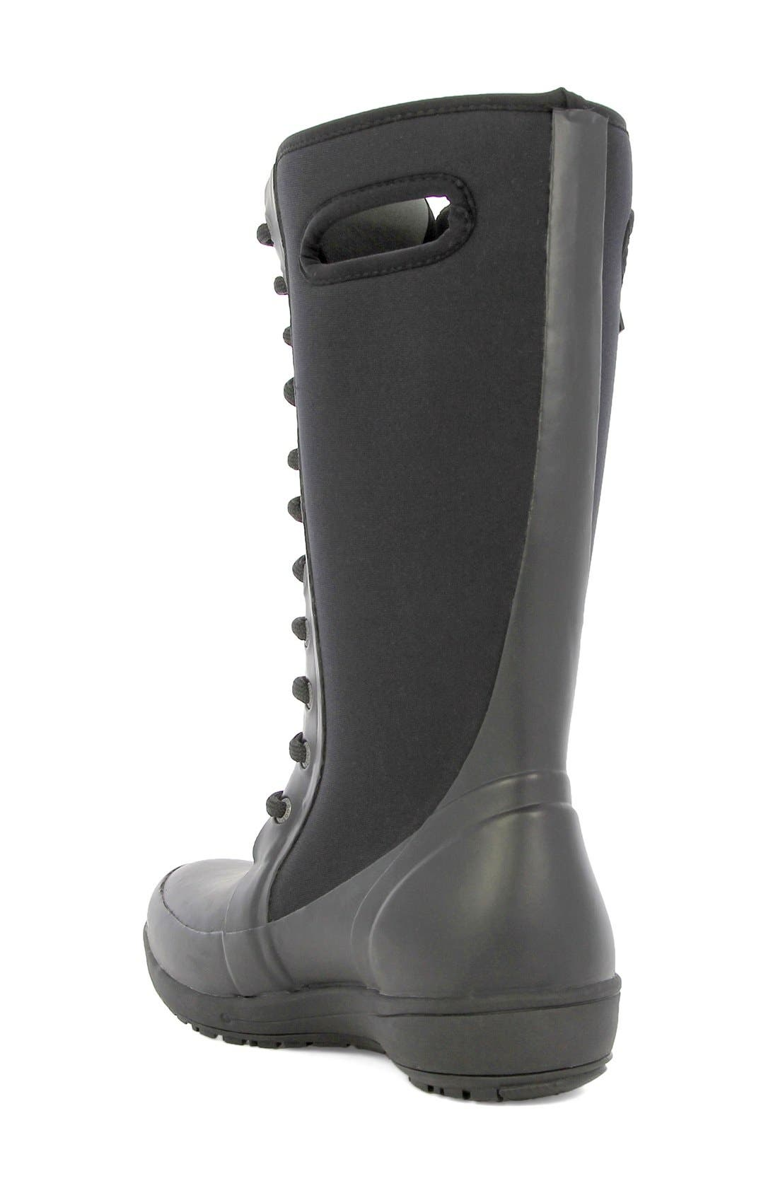 'Cami' Knee High Waterproof Boot,                             Alternate thumbnail 2, color,                             001