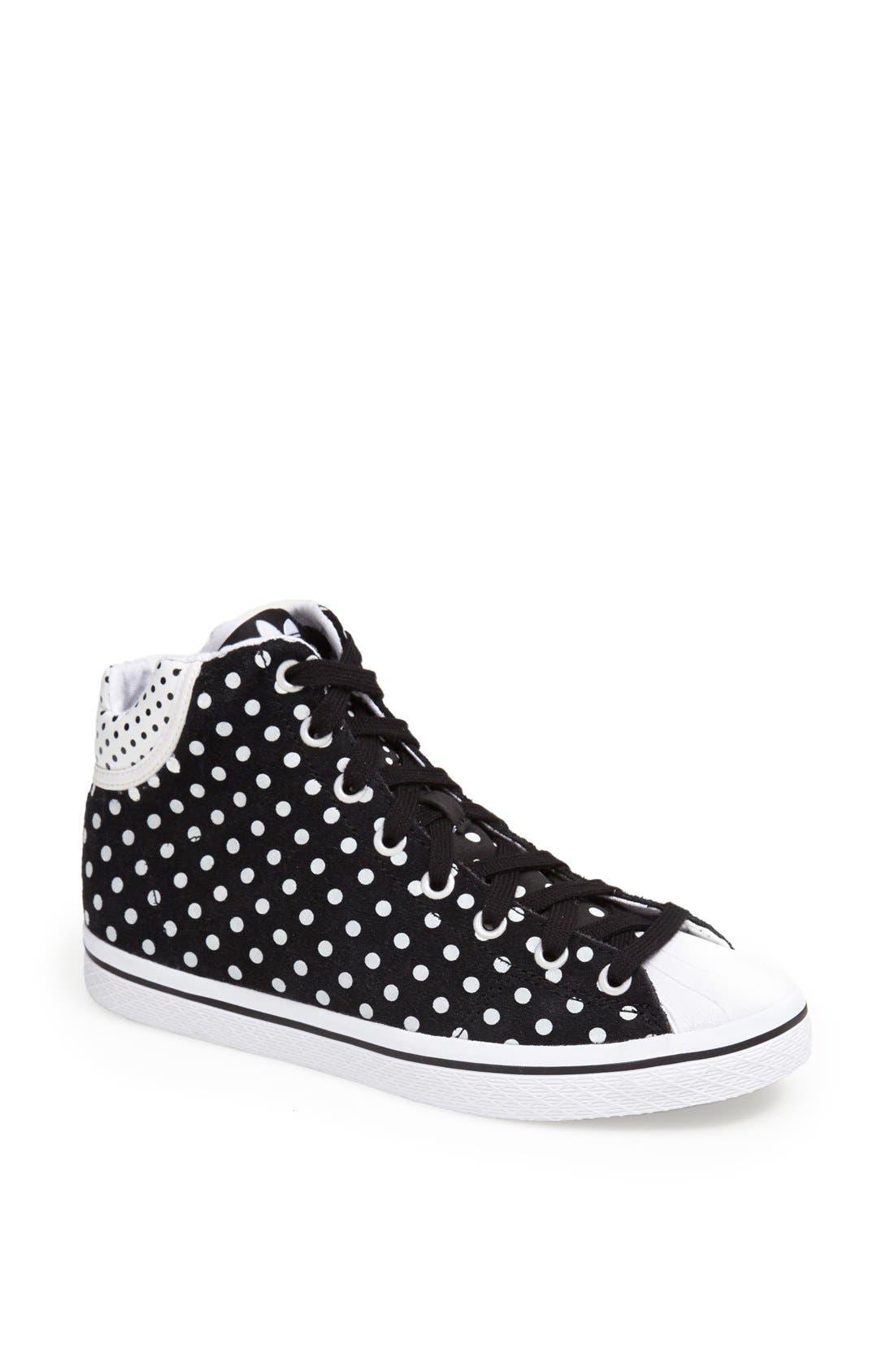 'Star' High Top Sneaker,                             Main thumbnail 1, color,                             001