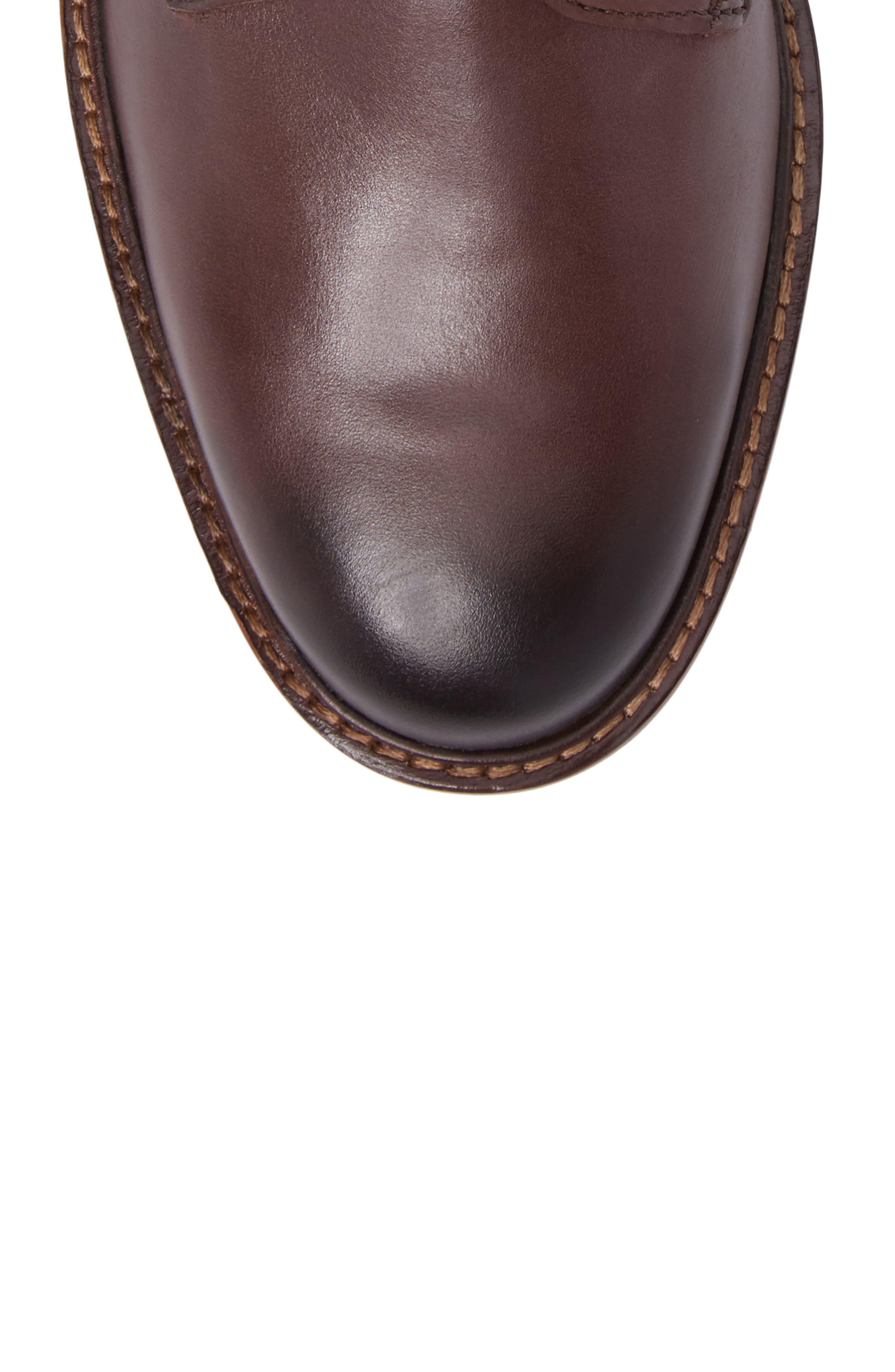 Tyler Grand Plain Toe Boot,                             Alternate thumbnail 5, color,                             205