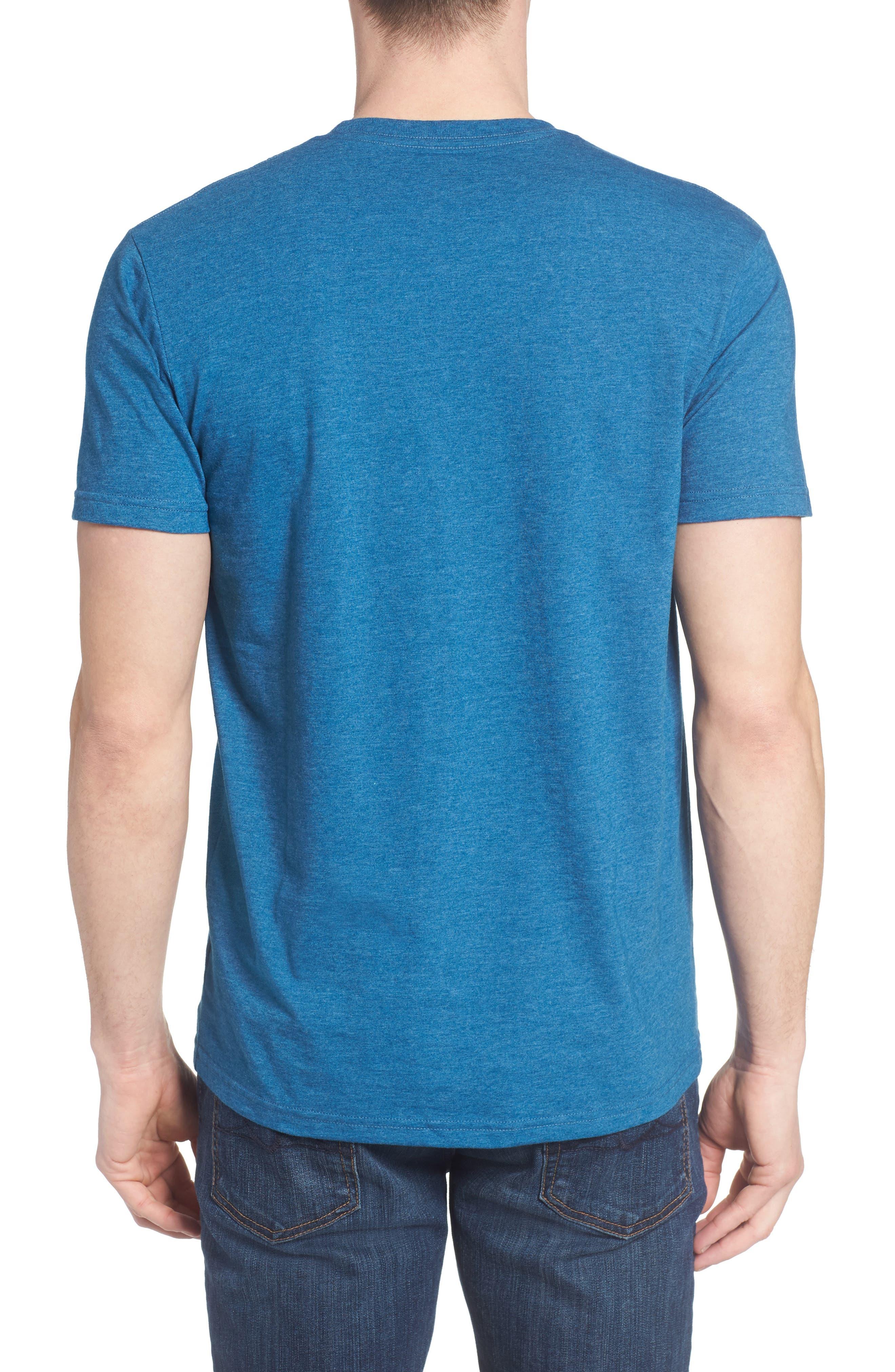 'Fitz Roy Crest' Slim Fit Organic Cotton Blend T-Shirt,                             Alternate thumbnail 13, color,