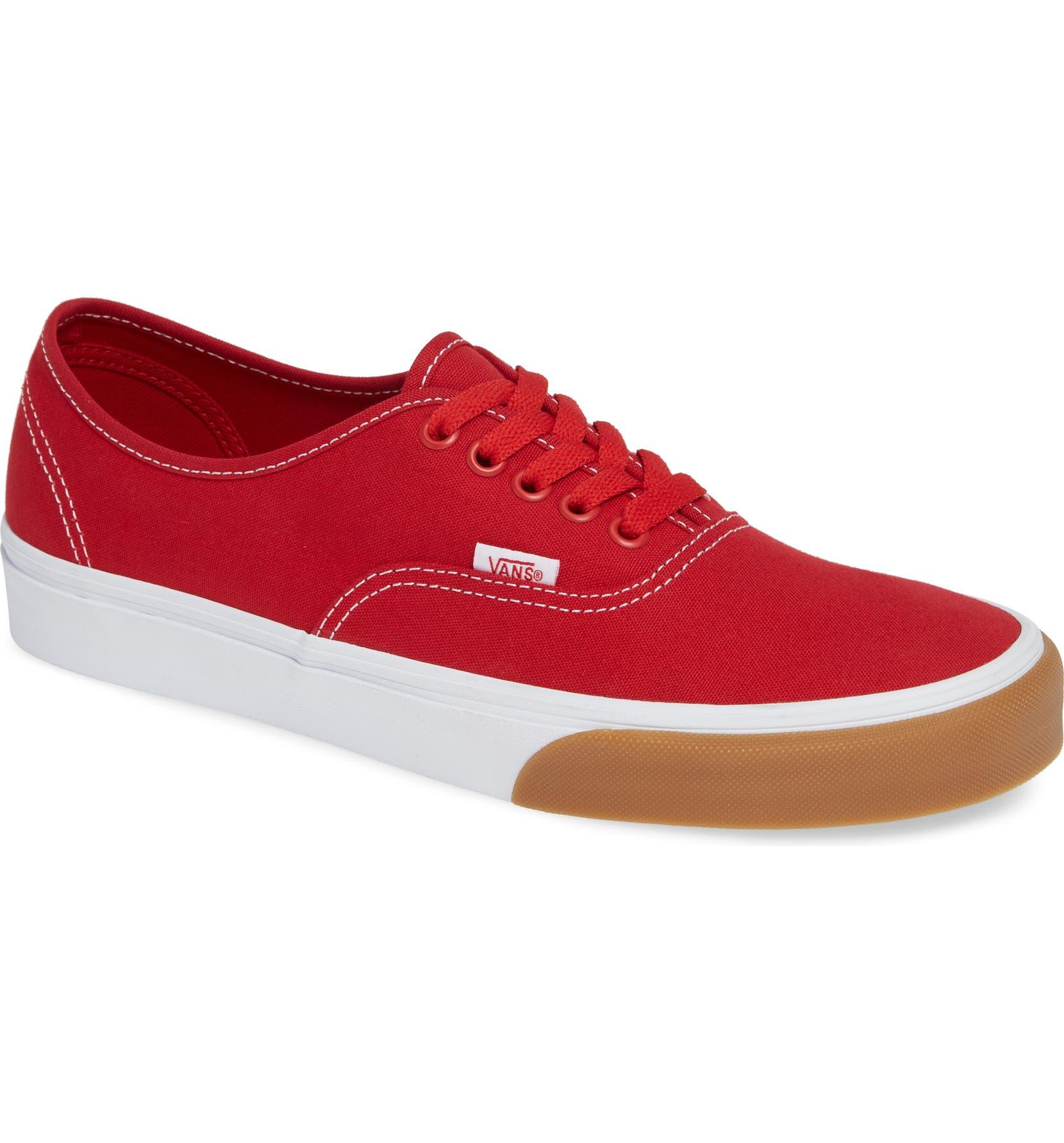 Vans Authentic Gum Bumper Sneaker (Men)  4e8cc5770