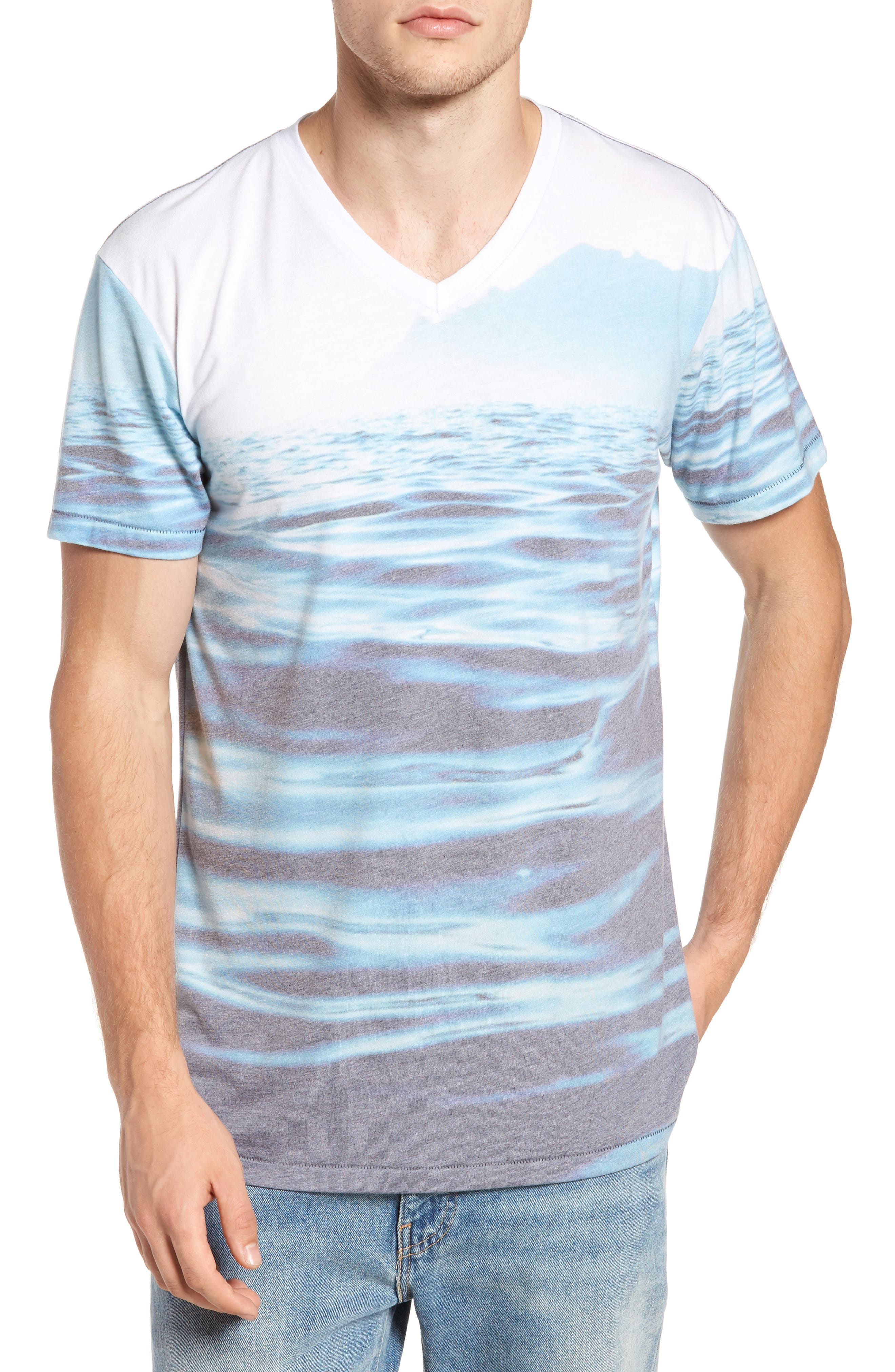 Mirage Waters T-Shirt,                             Main thumbnail 1, color,                             460