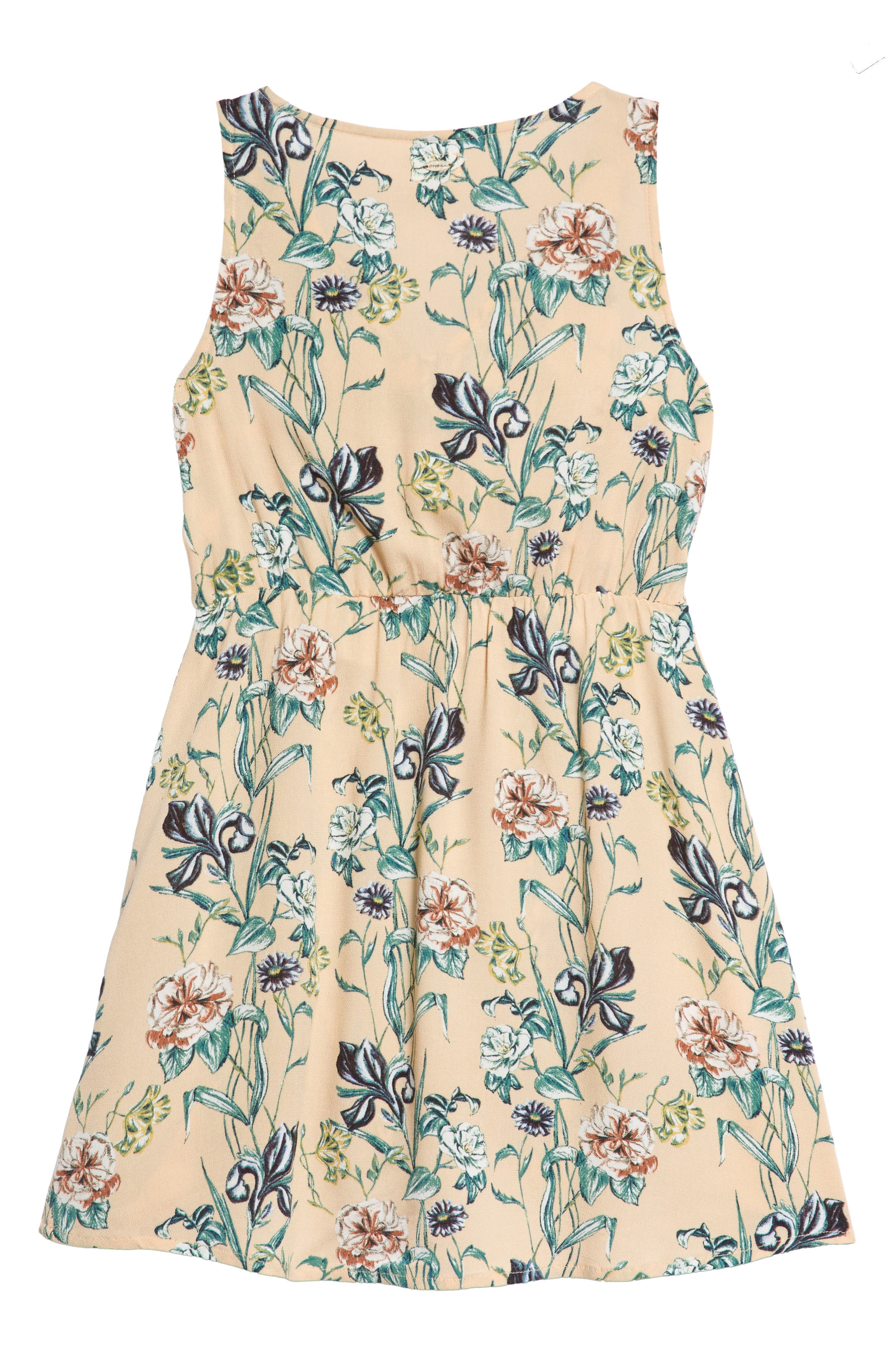 Arky Knotted Floral Print Dress,                             Alternate thumbnail 2, color,                             900