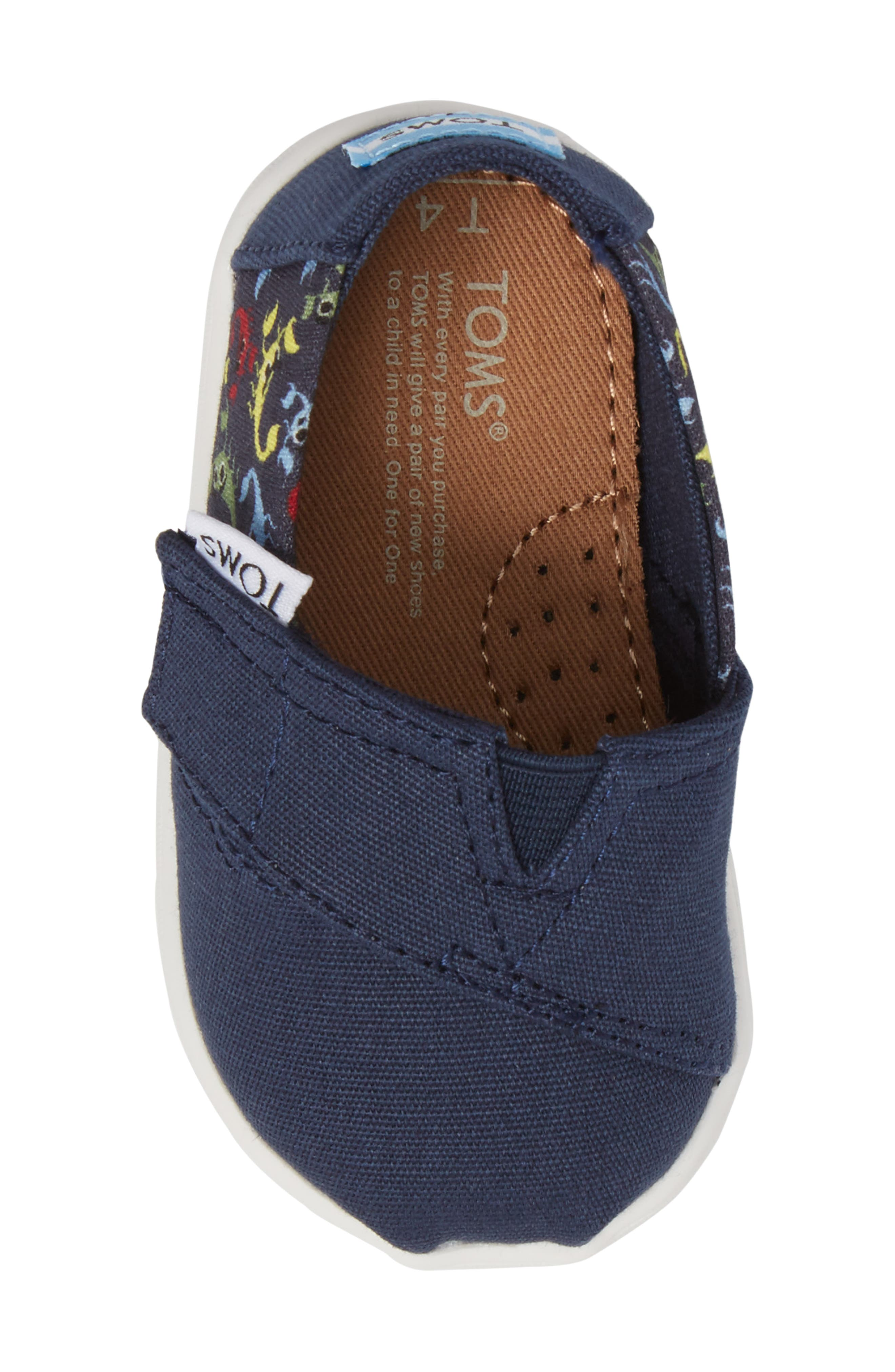Tiny Alpargata Print Slip-On,                             Alternate thumbnail 24, color,