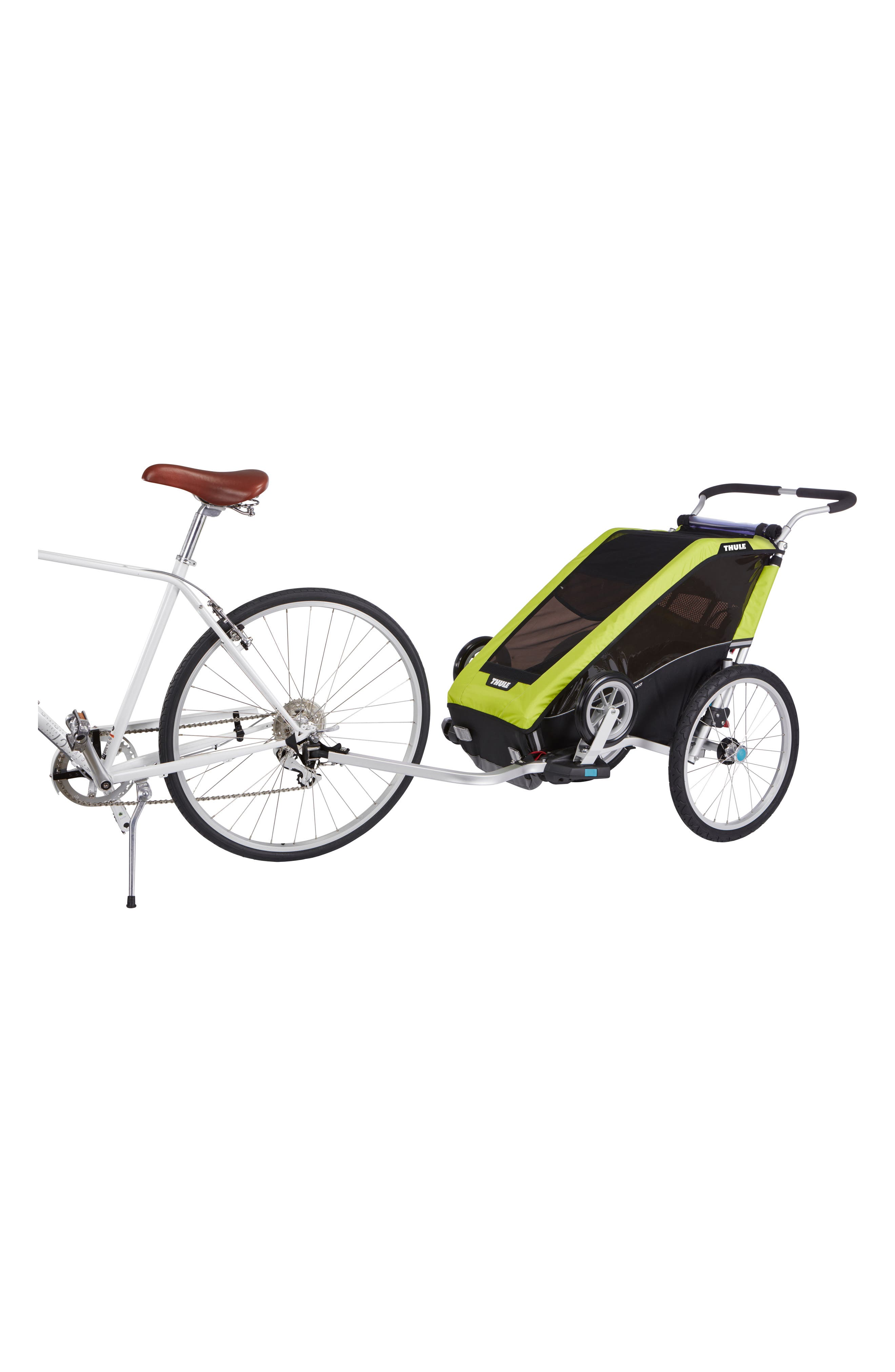 Chariot Cheetah XT 2 Multisport Cycle Trailer/Stroller,                             Alternate thumbnail 2, color,                             CHARTREUSE