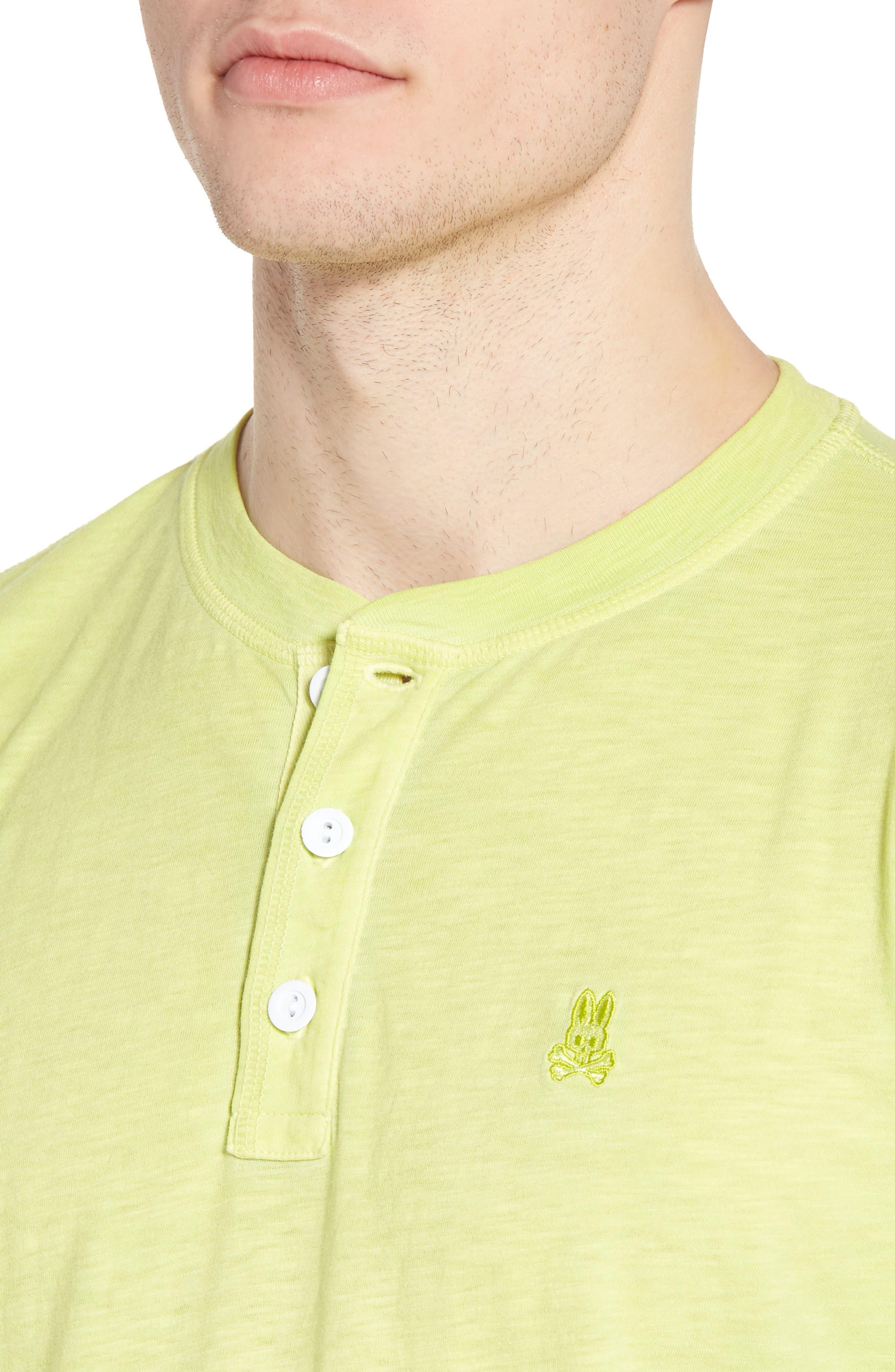 Sunwash Henley T-Shirt,                             Alternate thumbnail 18, color,