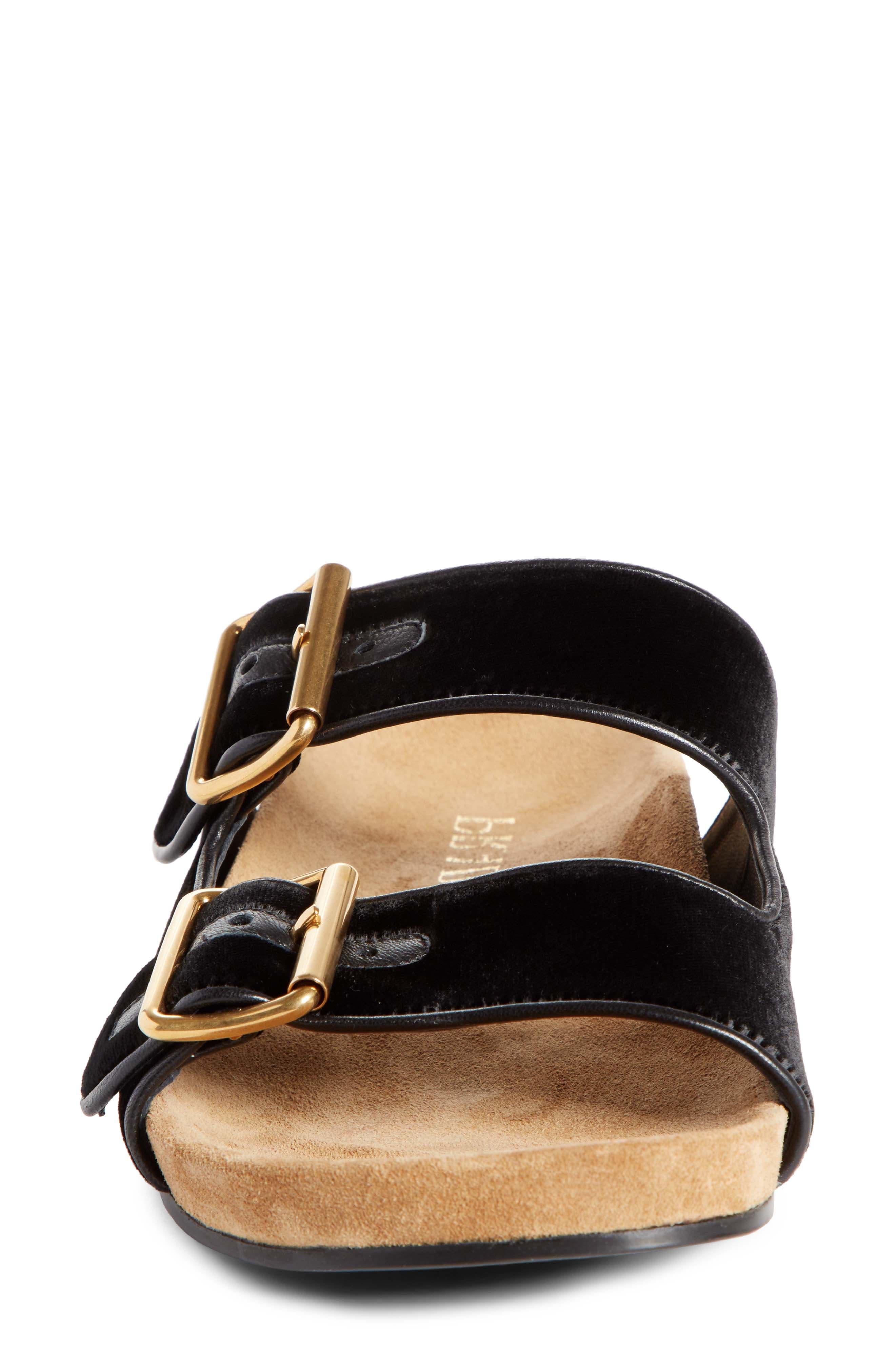 PRADA,                             Slide Sandal,                             Alternate thumbnail 4, color,                             001