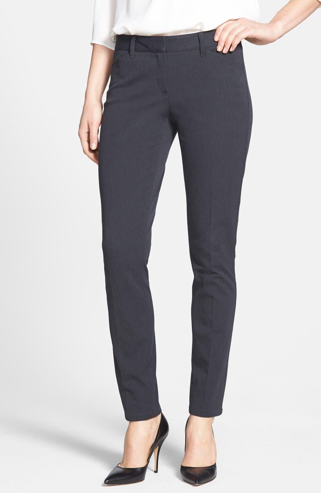 'Dantey' Slim Leg Pants,                         Main,                         color, 001