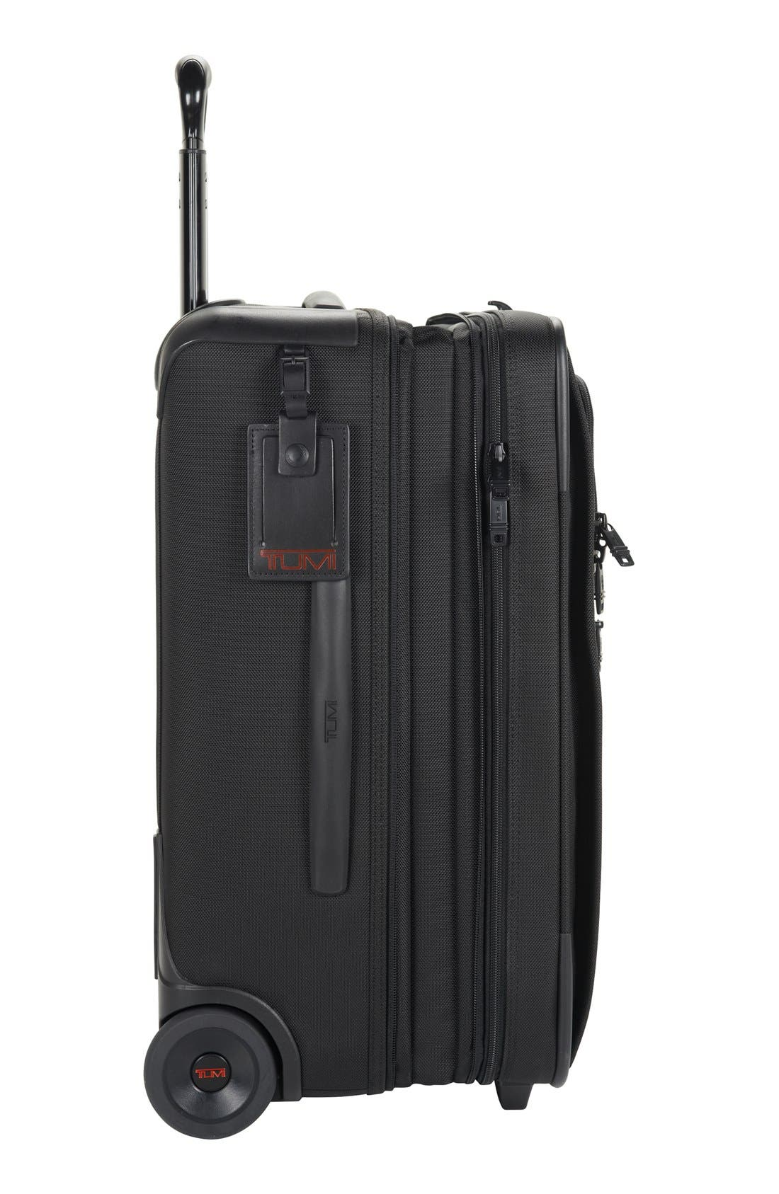 Alpha 2 22-Inch International Carry-On,                             Alternate thumbnail 6, color,                             BLACK