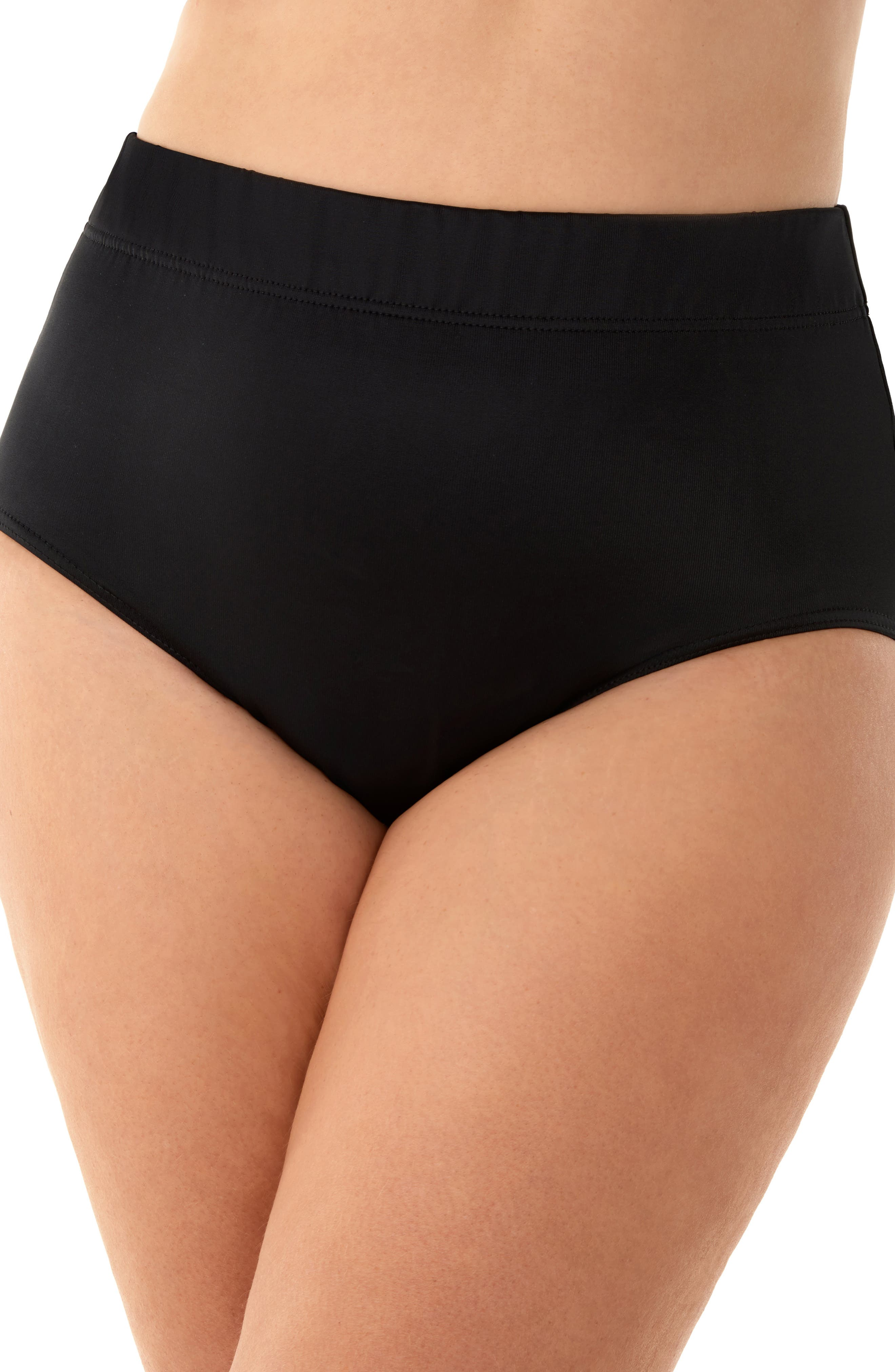 Basic Bikini Bottoms, Main, color, BLACK