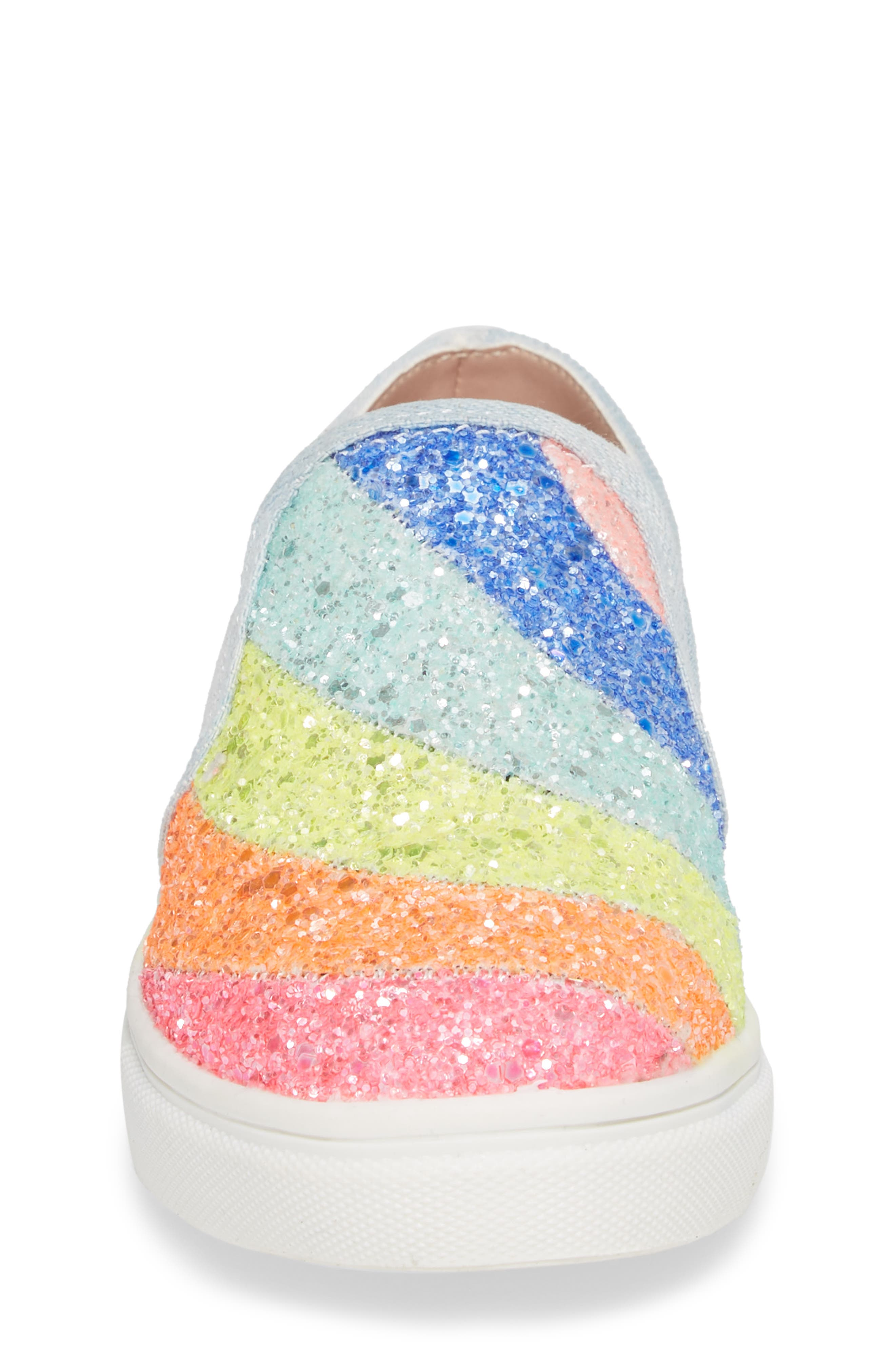 JWISH Rainbow Slip-On Sneaker,                             Alternate thumbnail 4, color,                             650