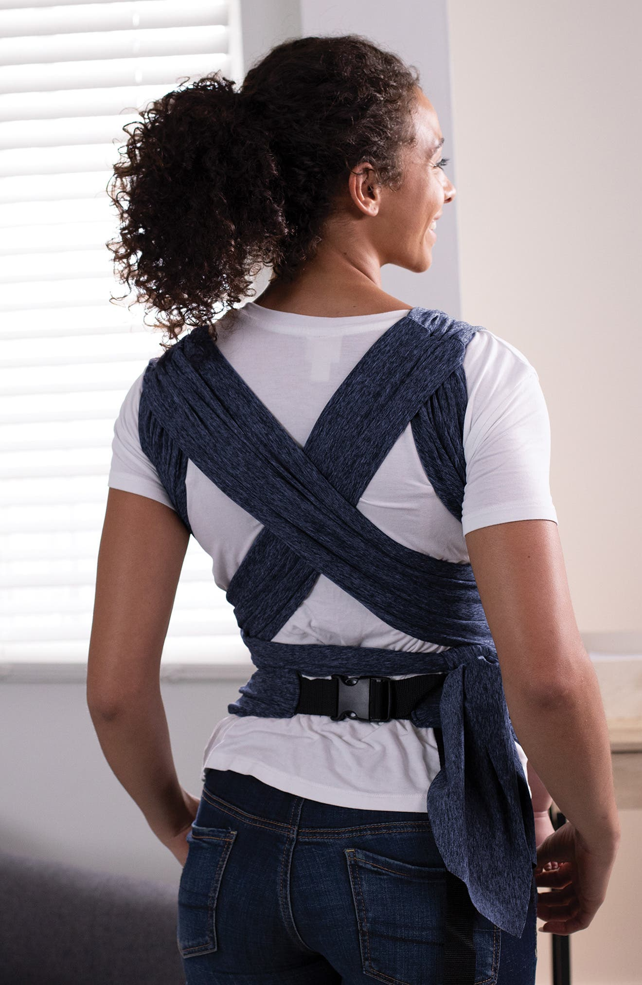 ComfyFit Baby Carrier,                             Alternate thumbnail 5, color,                             MIDNIGHT BLUE