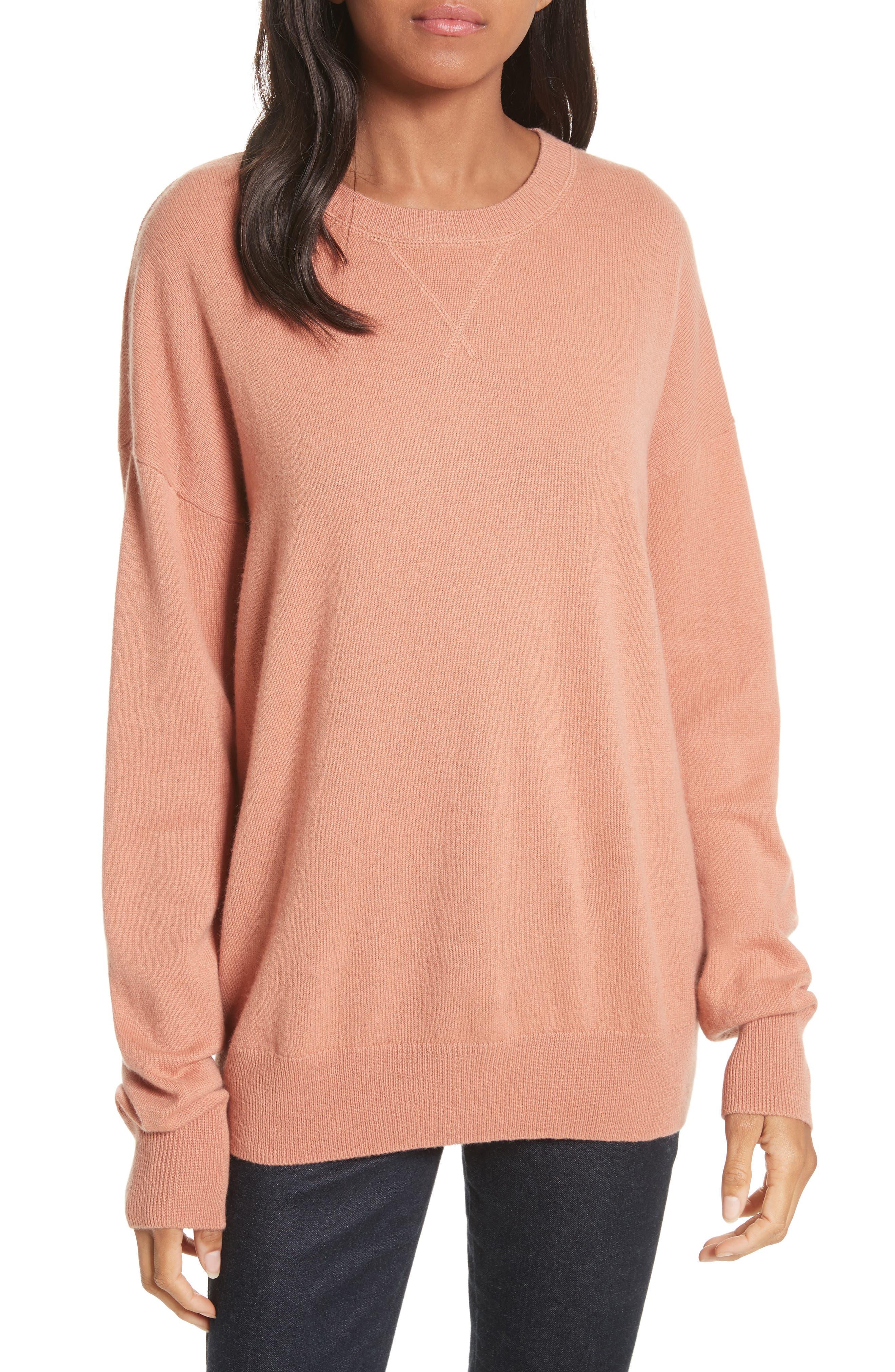 Renee Cashmere Sweatshirt,                             Main thumbnail 2, color,