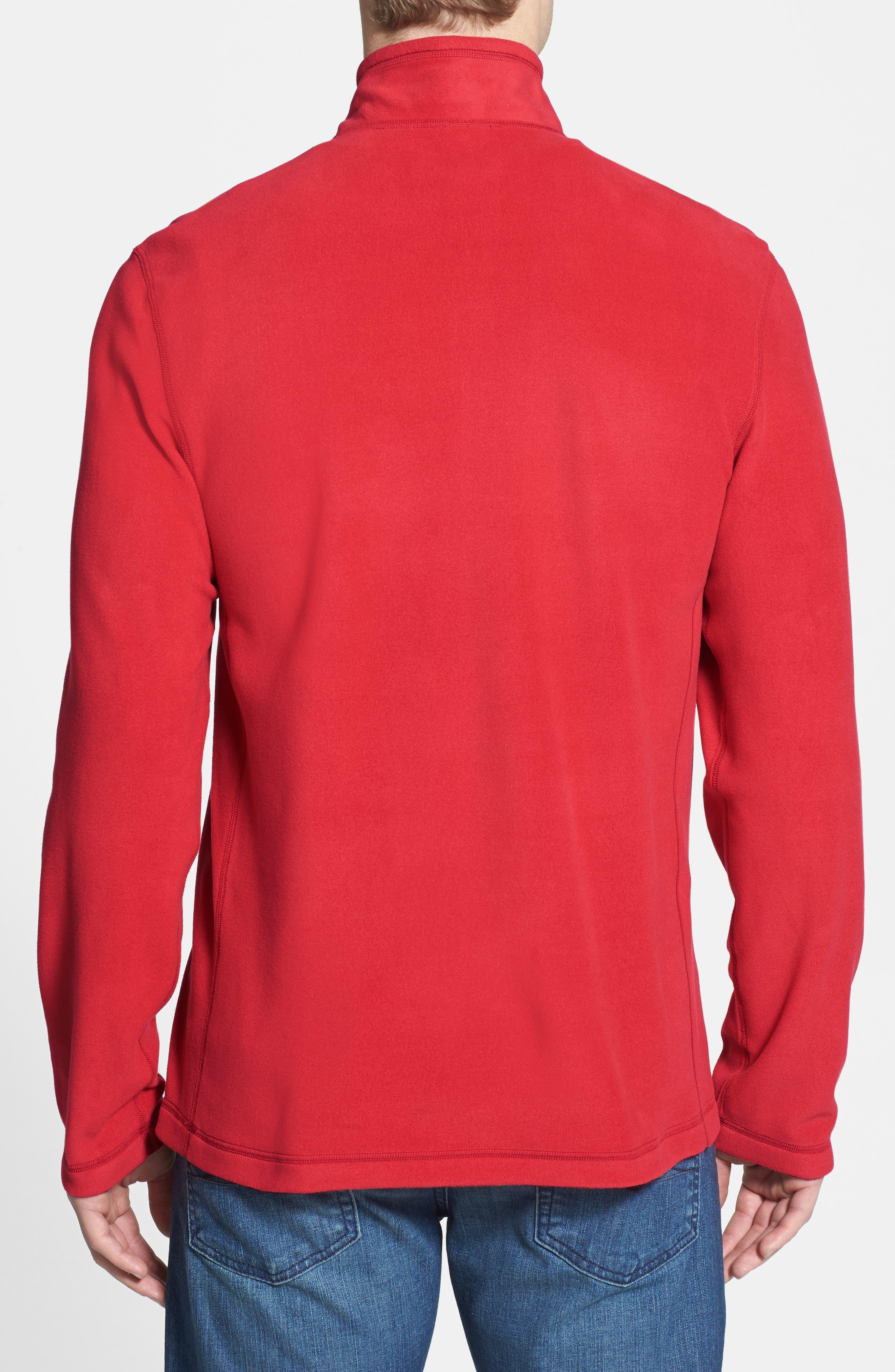 'TKA 100 Glacier' Quarter Zip Fleece Pullover,                             Alternate thumbnail 57, color,