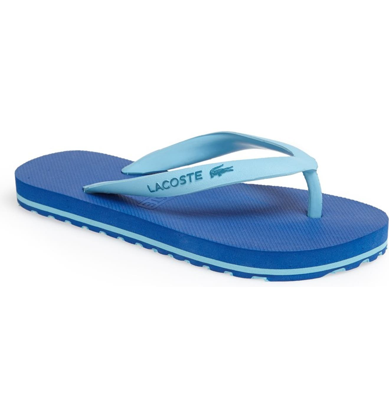 d4a6a557ef5317 Lacoste  Nosara  Flip Flop (Toddler