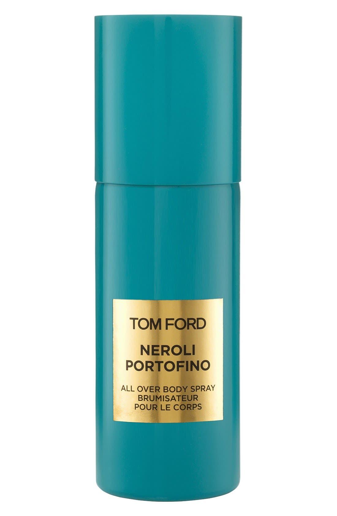 Private Blend Neroli Portofino All Over Body Spray,                             Main thumbnail 1, color,                             NO COLOR