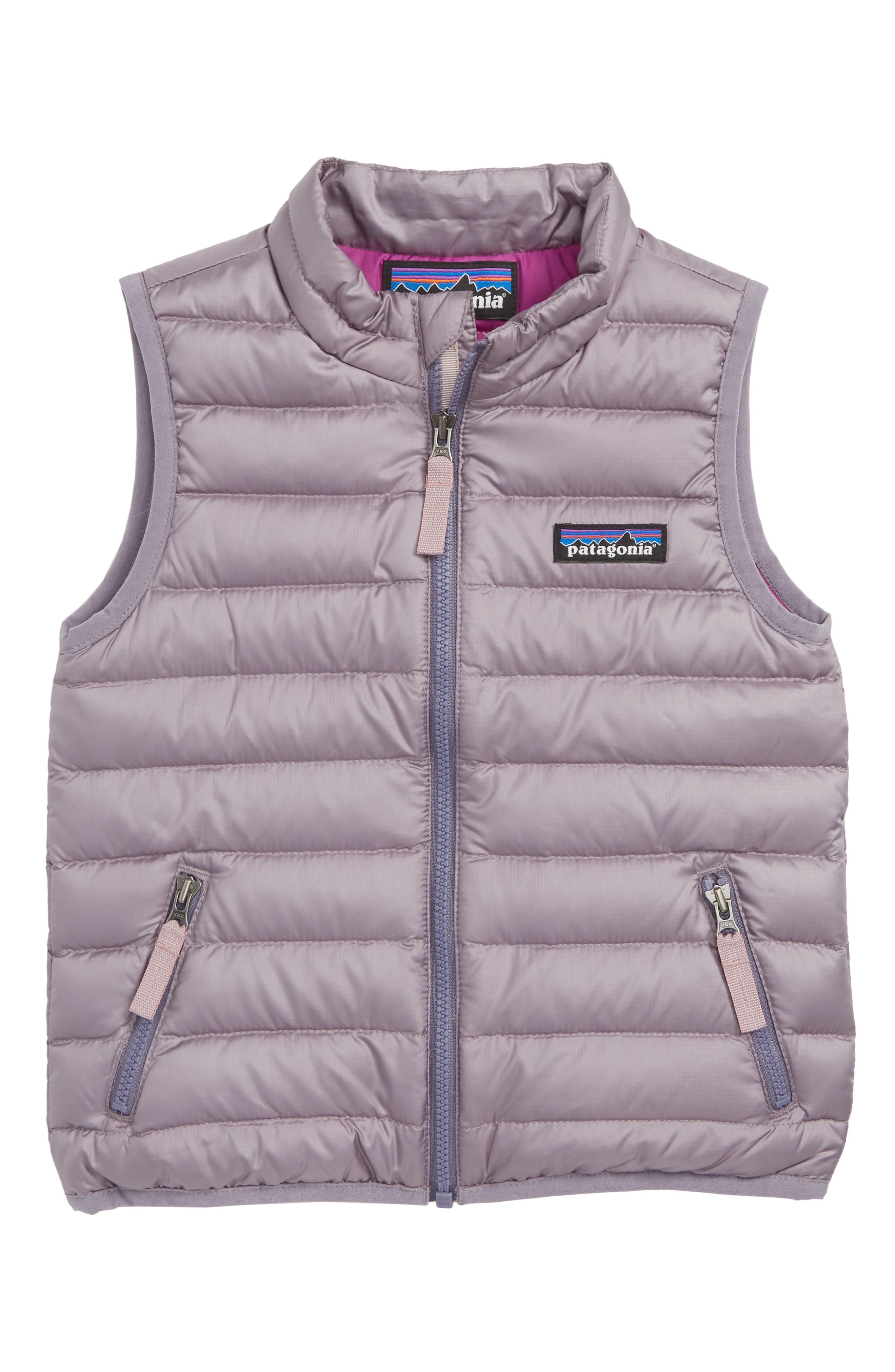 600-Fill Down Sweater Vest,                         Main,                         color, SMOKEY VIOLET