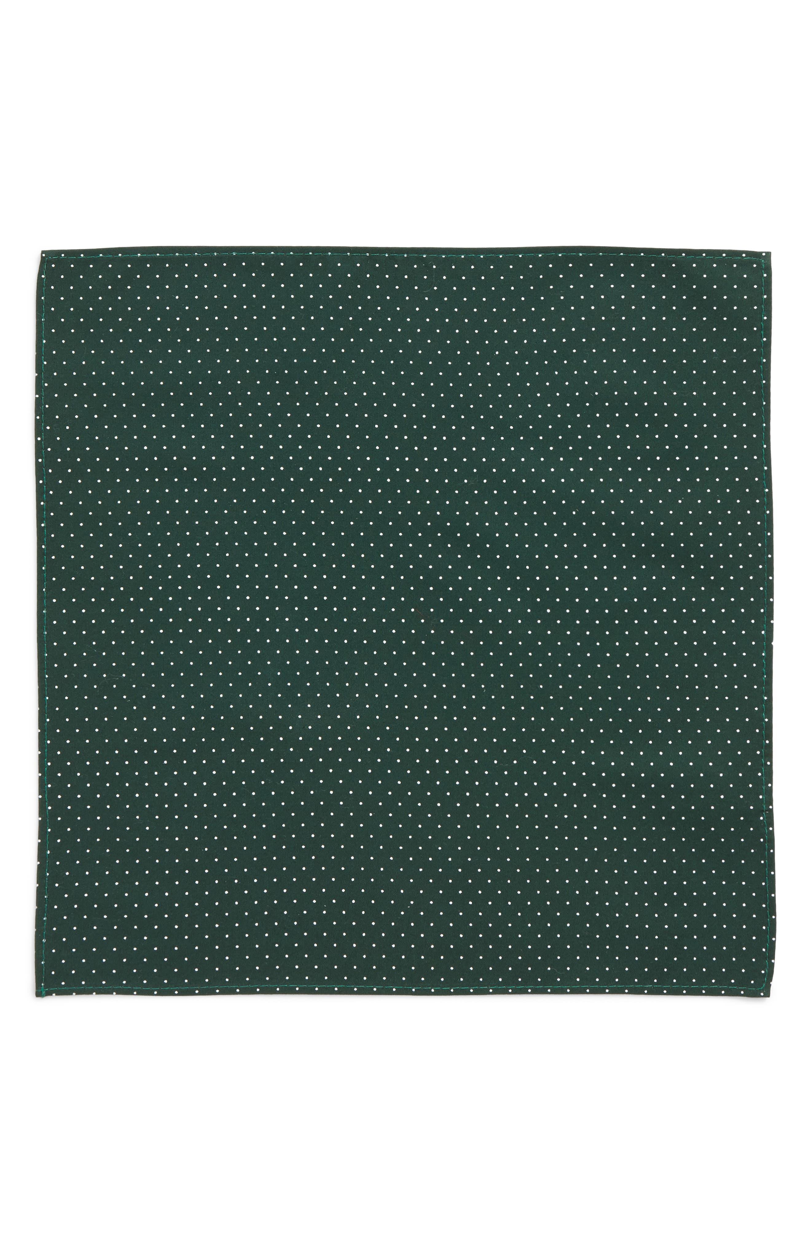 Micro Dot Pocket Square,                             Alternate thumbnail 4, color,