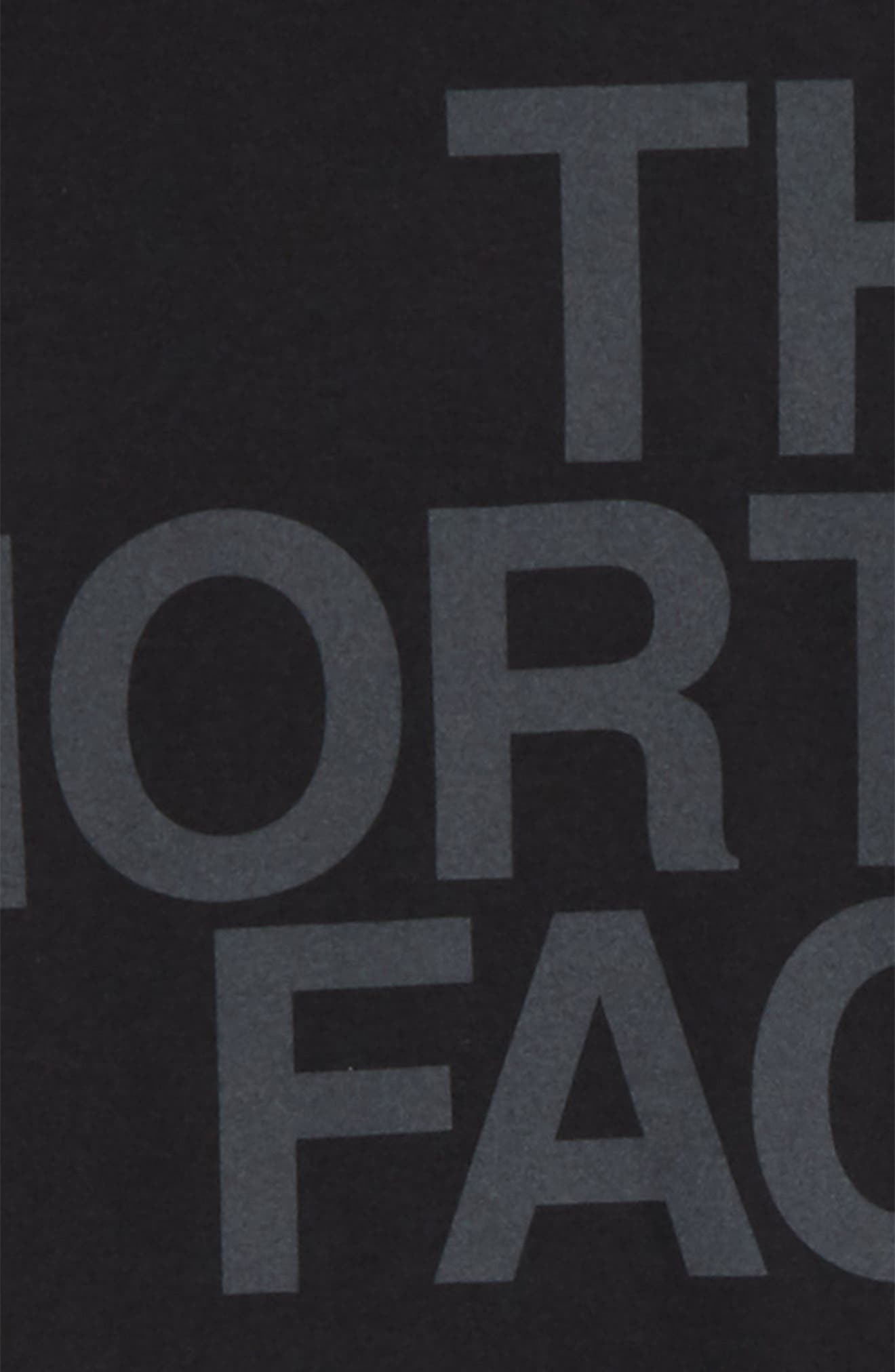 THE NORTH FACE,                             Graphic T-Shirt,                             Alternate thumbnail 2, color,                             001