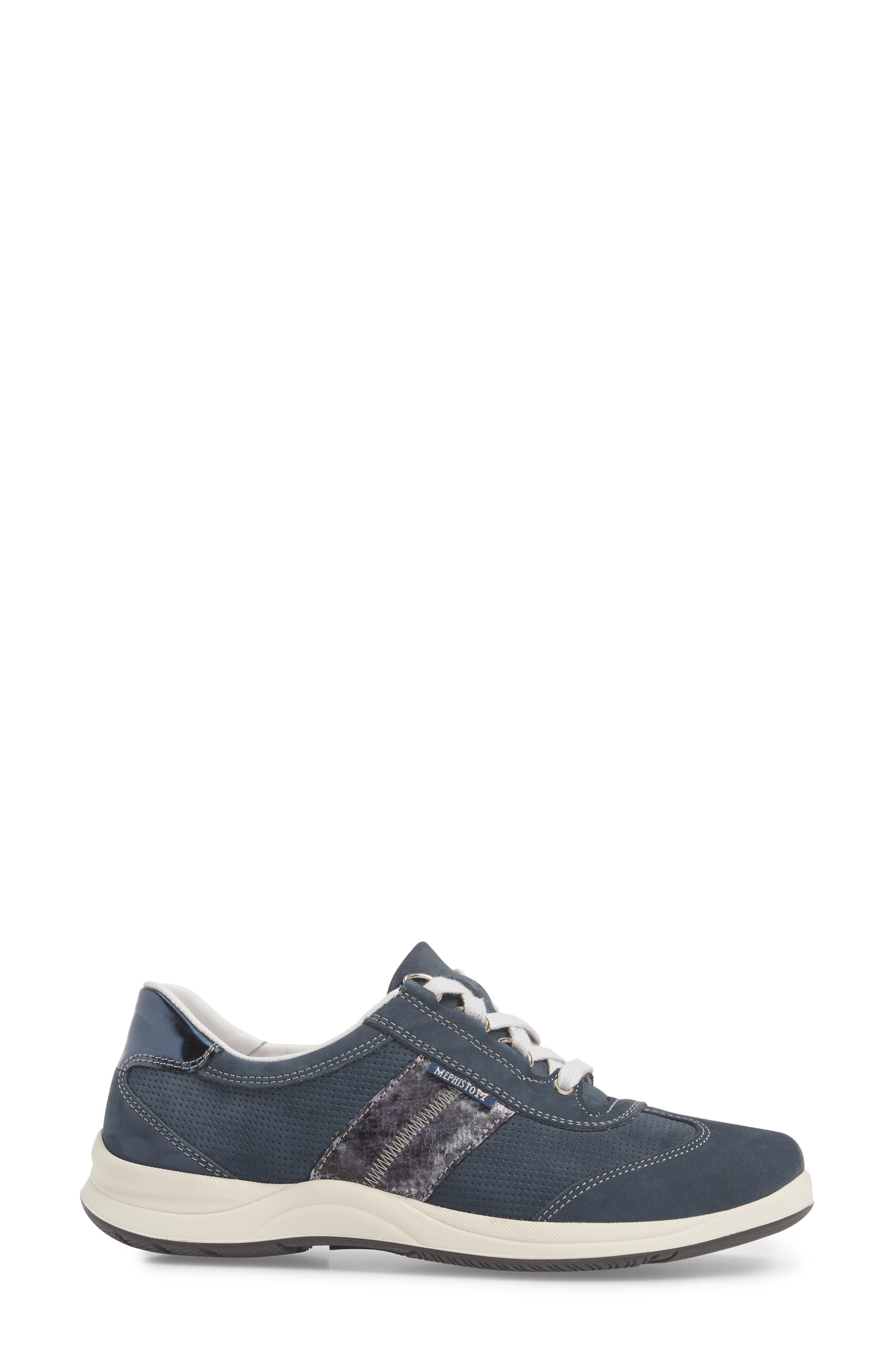 Laser Perforated Walking Shoe,                             Alternate thumbnail 18, color,