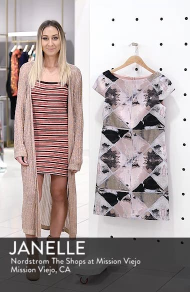 Jacquard Sheath Dress, sales video thumbnail